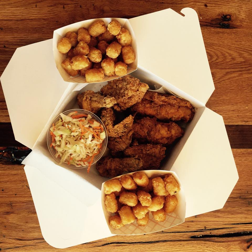 Family Meal at Astro Doughnuts & Fried Chicken