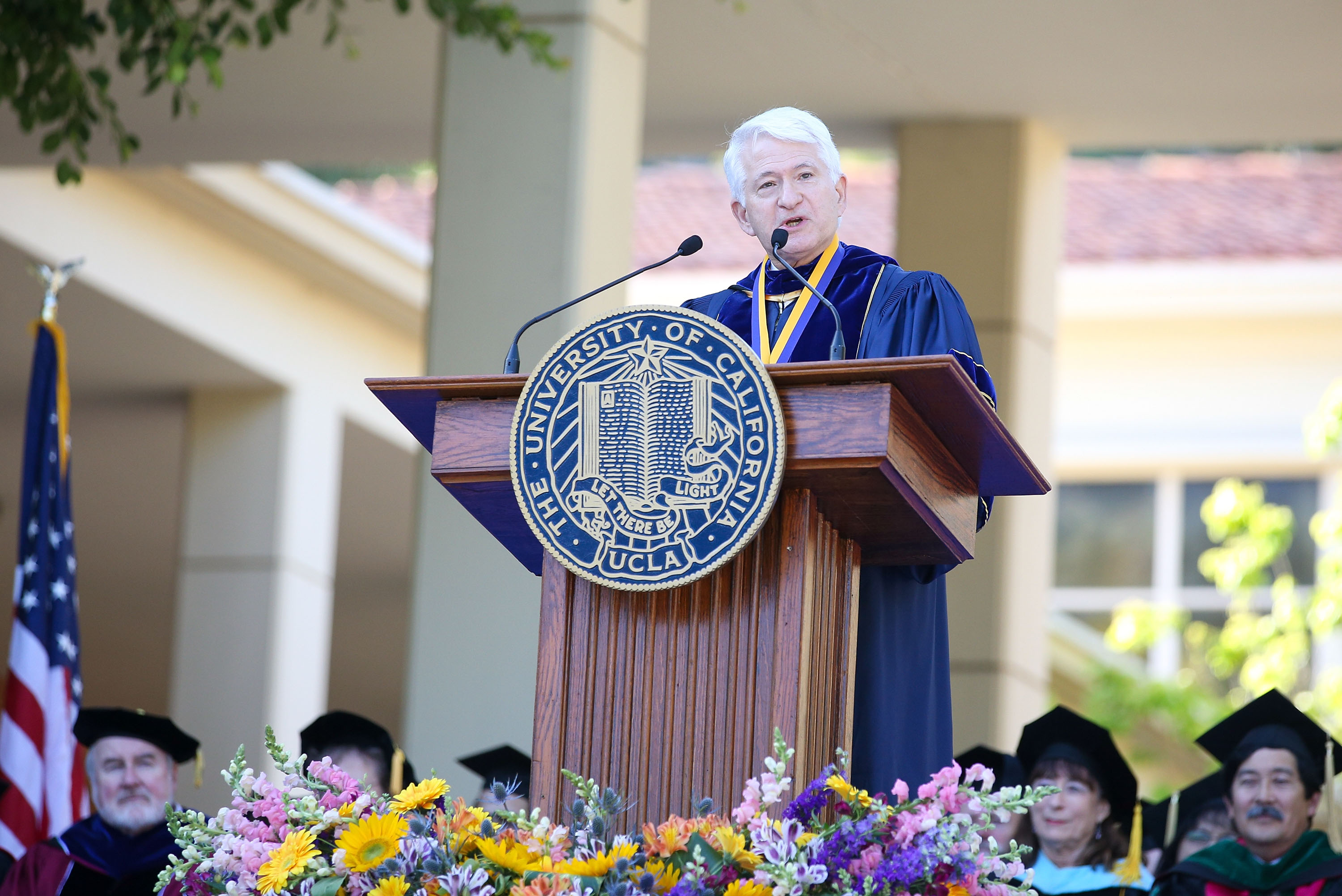 UCLA Chancellor Gene Block is the Pac-12 representative on the NCAA Board of Governors.