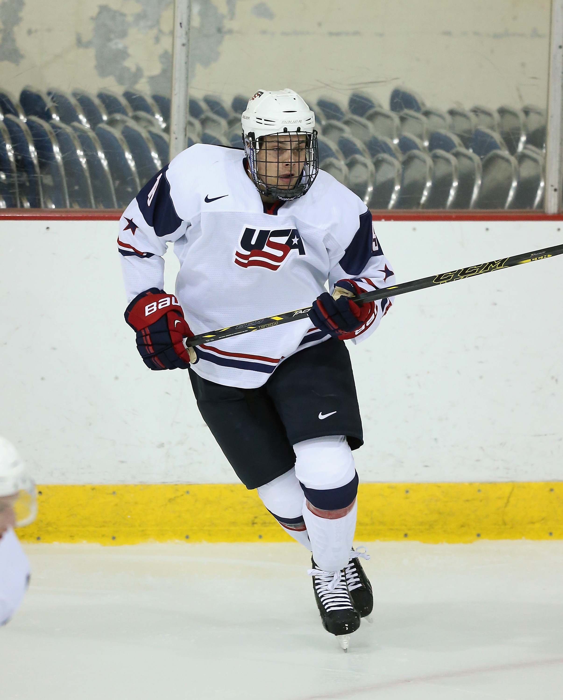 Finland v USA White - 2014 USA Hockey Junior Evaluation Camp