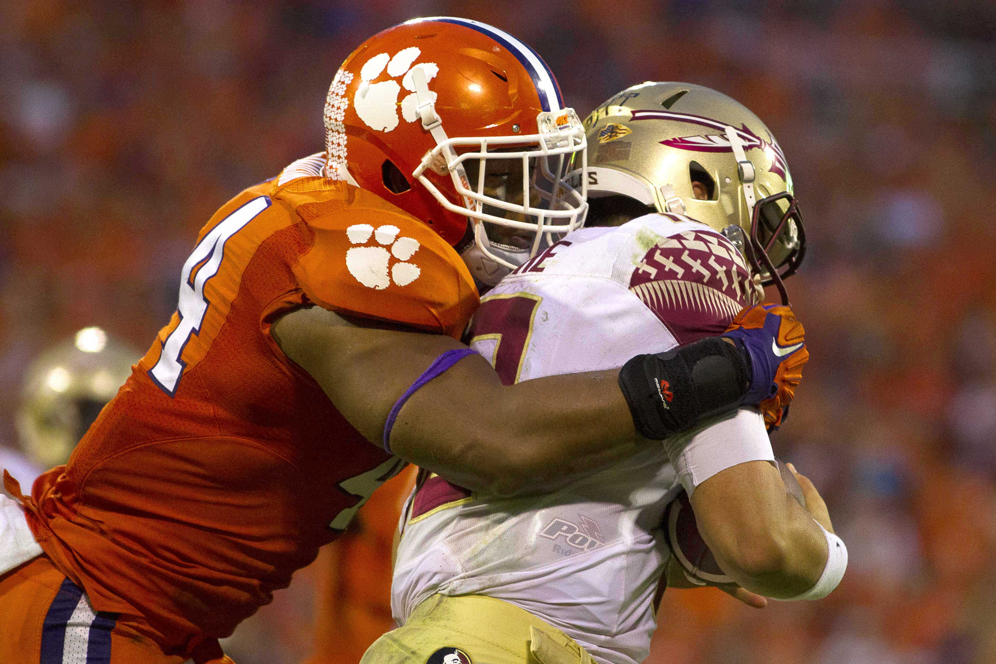 Clemson linebacker B.J. Goodson is the Giants' fourth-round selection