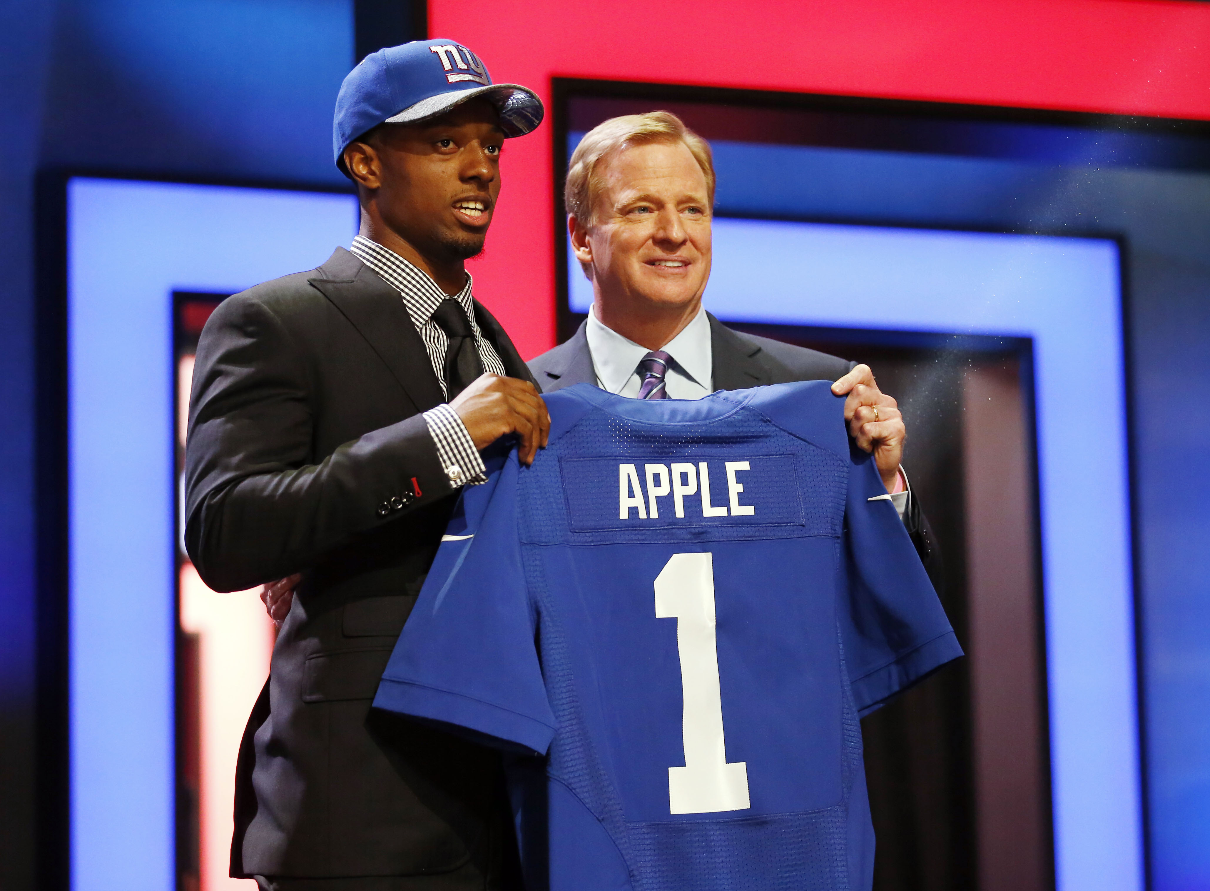 Eli Apple was the Giants' first round selection in the 2016 NFL Draft.