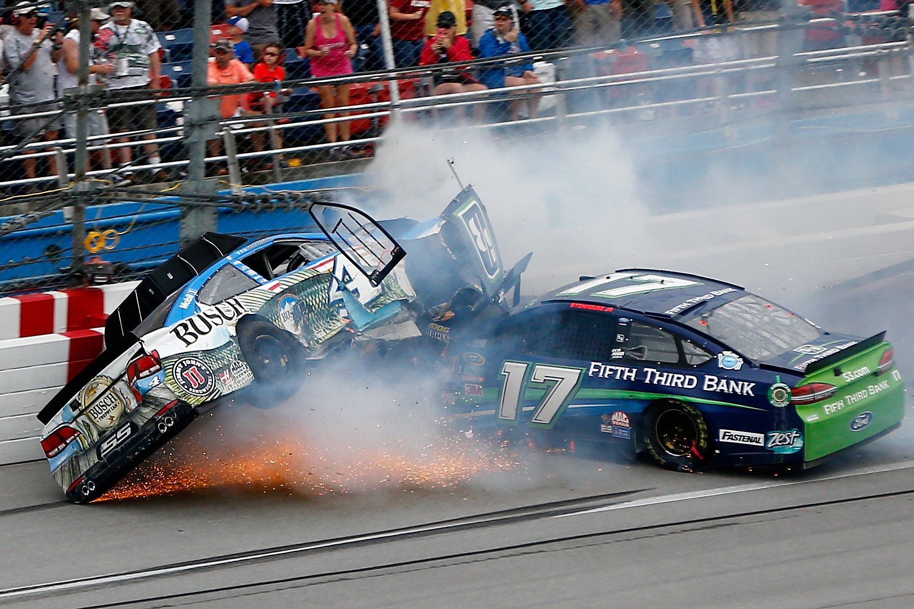 Talladega the latest evidence that NASCAR restrictor-plate insanity needs to stop
