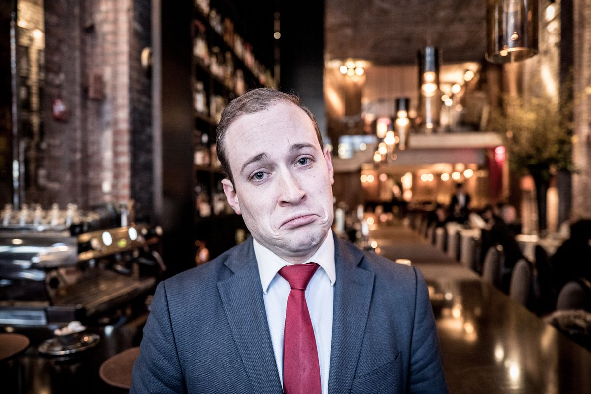 Why is sommelier Dean Fuerth frowning? Malört.