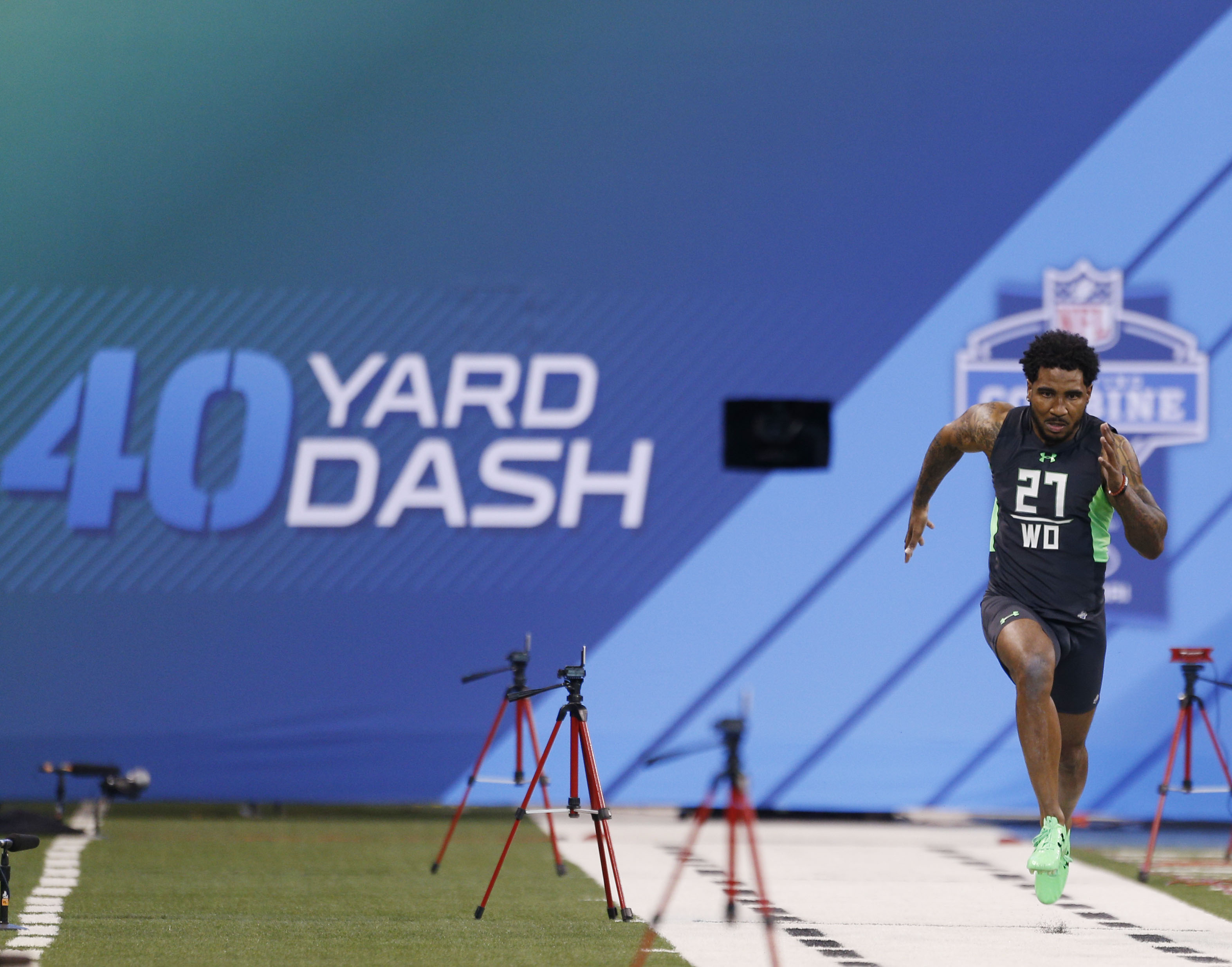 """Braxton Miller adds even more speed and quickness to the new """"Legion of Zoom"""" in Houston."""