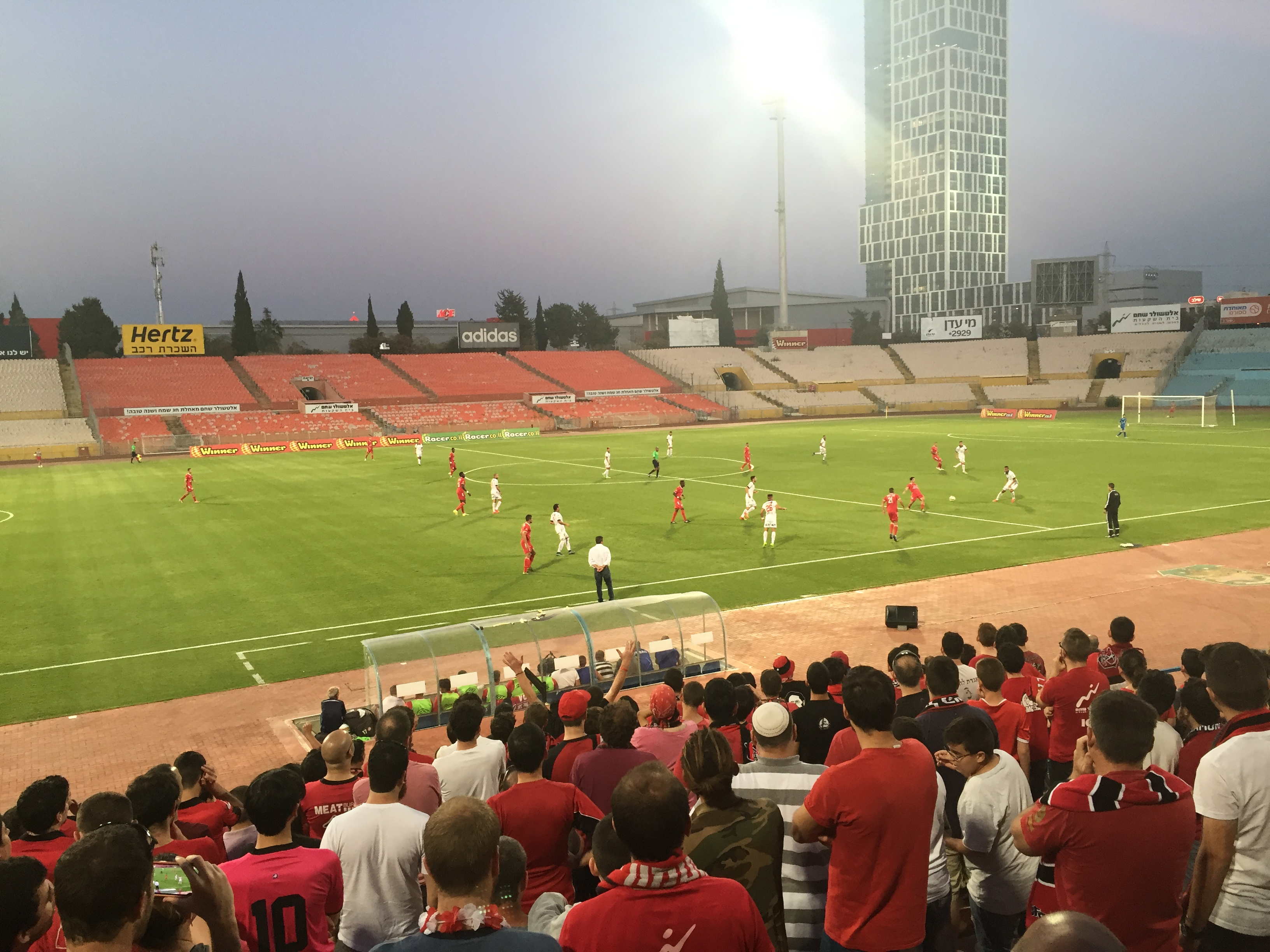 Deep in the heart of Israeli second division soccer.