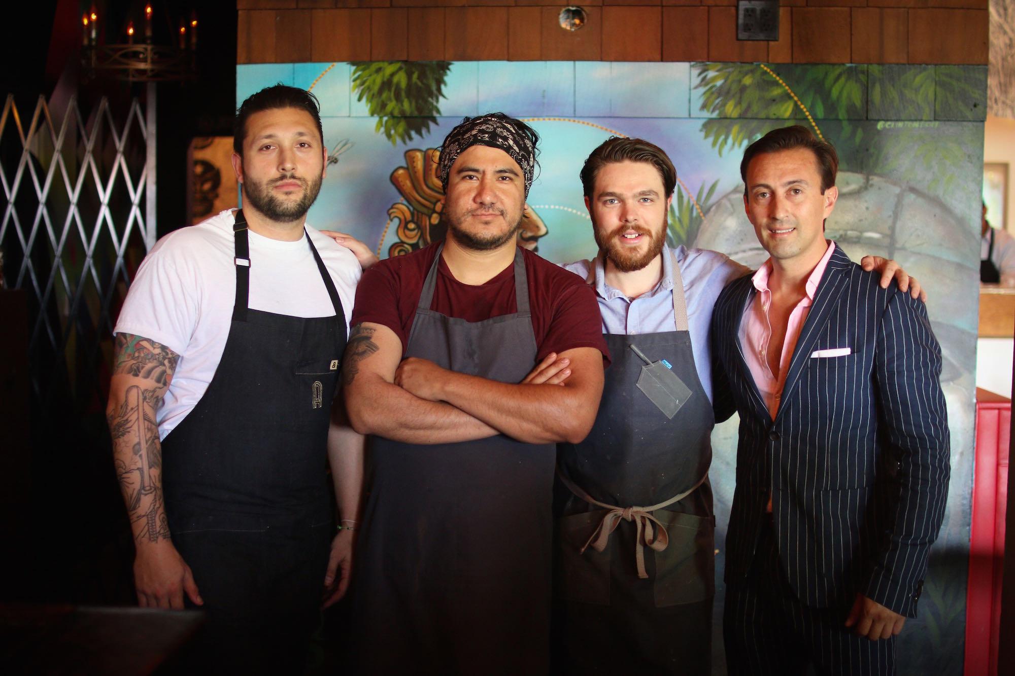 The team at El Chavo, Los Feliz