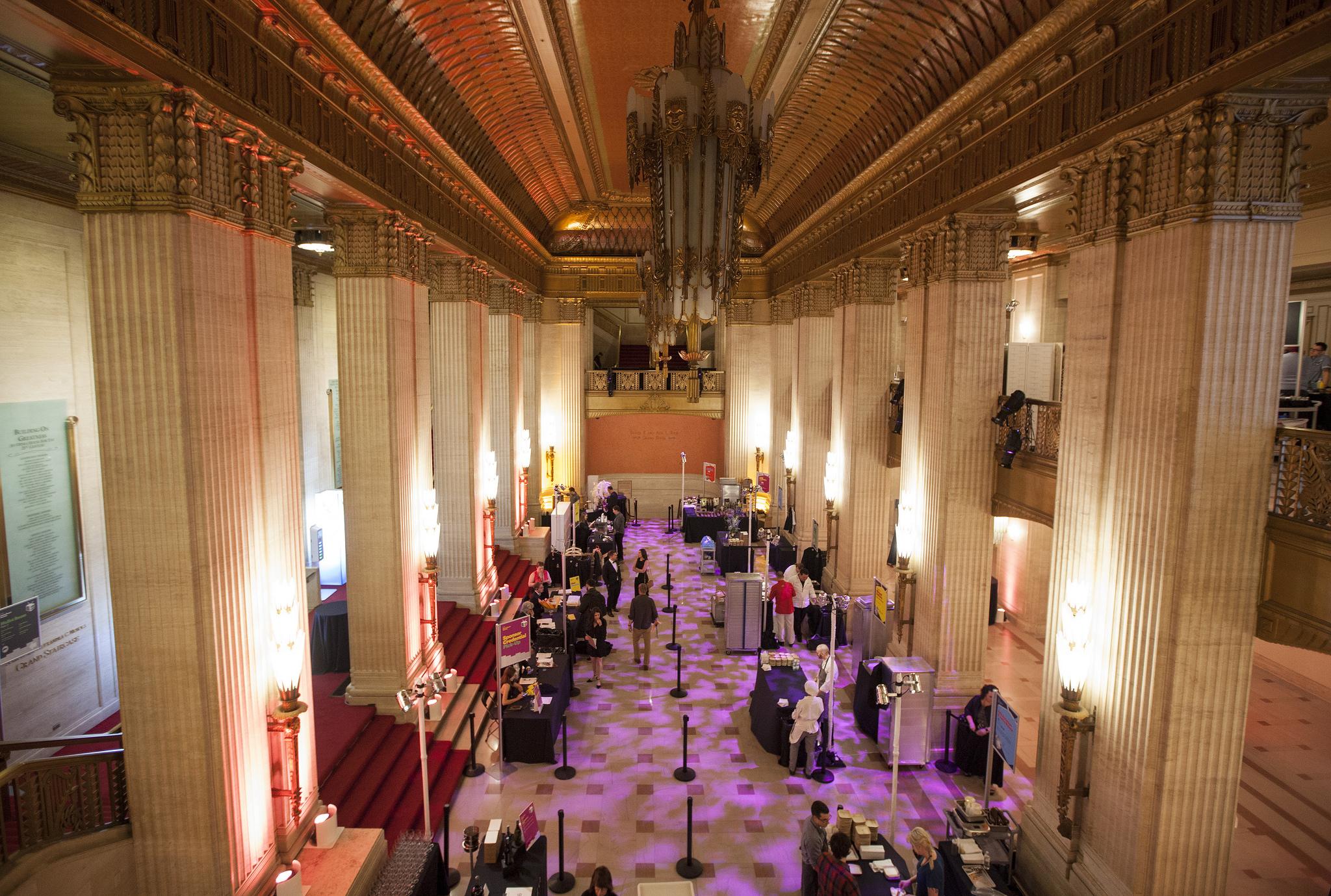 Inside the Lyric Opera House