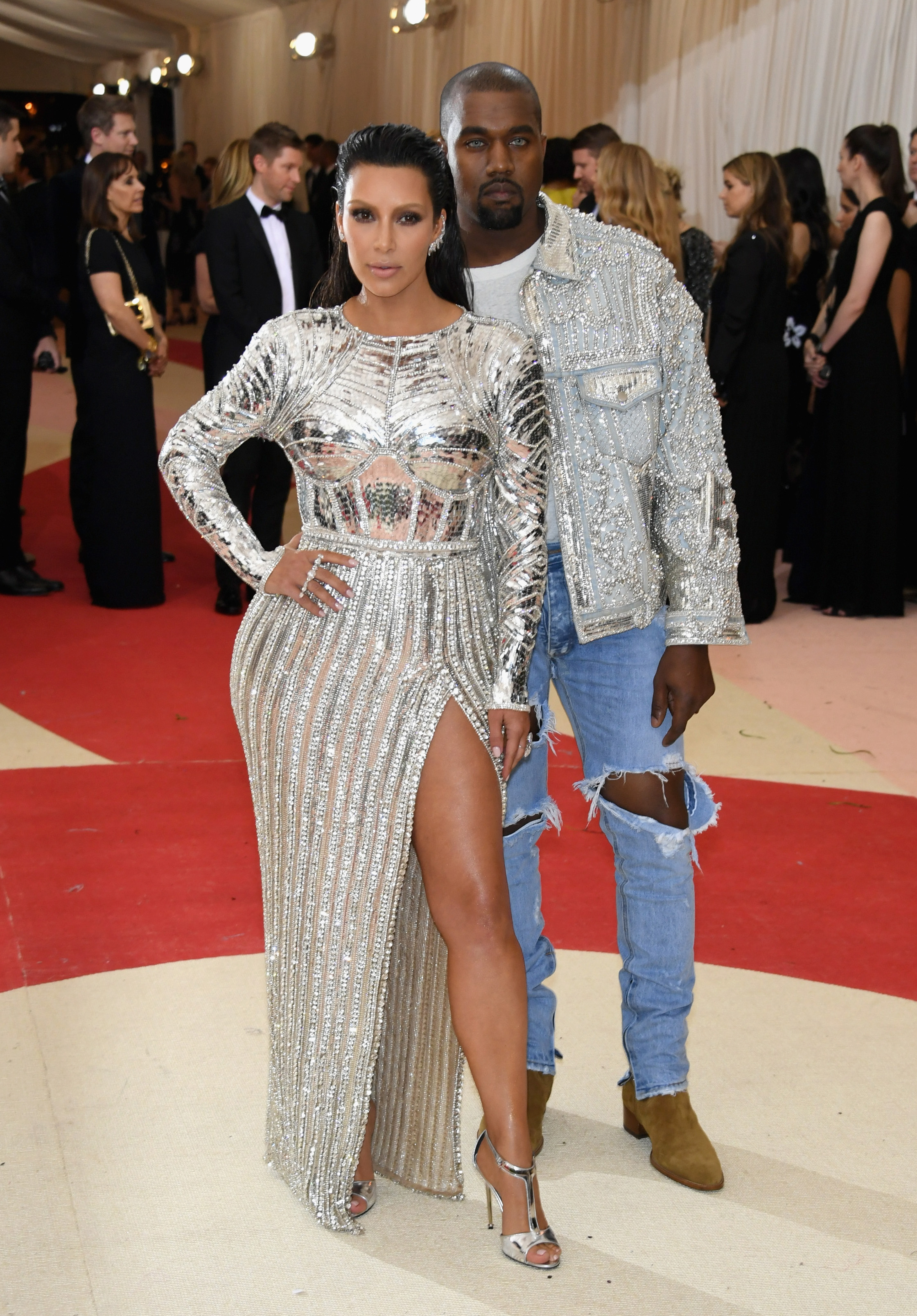 2418b951d25e0 Vogue Names Kim and Kanye the Met Gala s Best-Dressed Couple