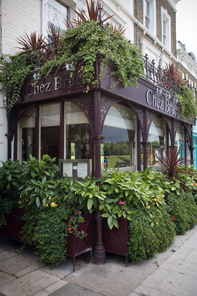 London's Chez Bruce, which boasts one Michelin star.