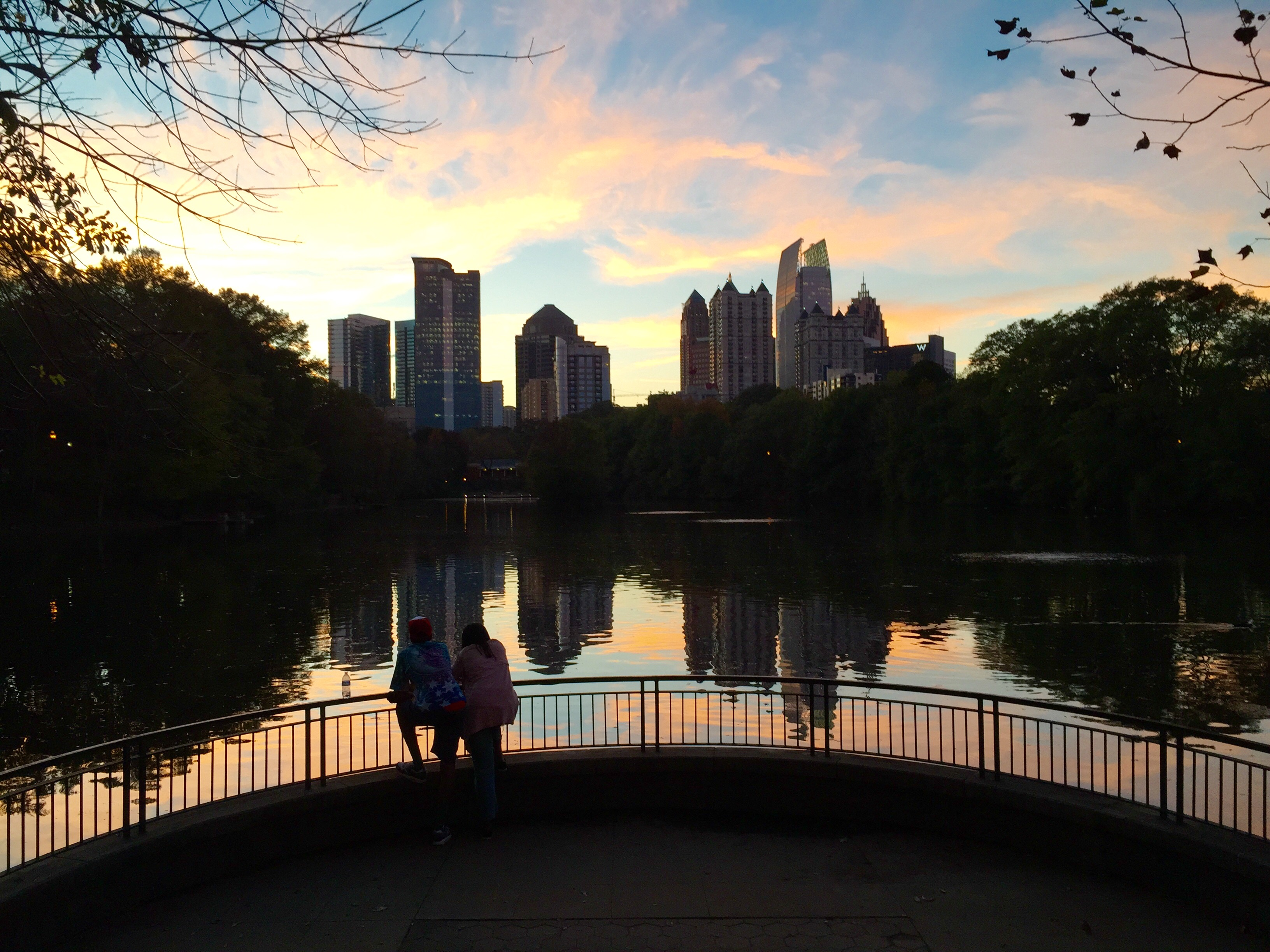 Midtown Atlanta skyline.