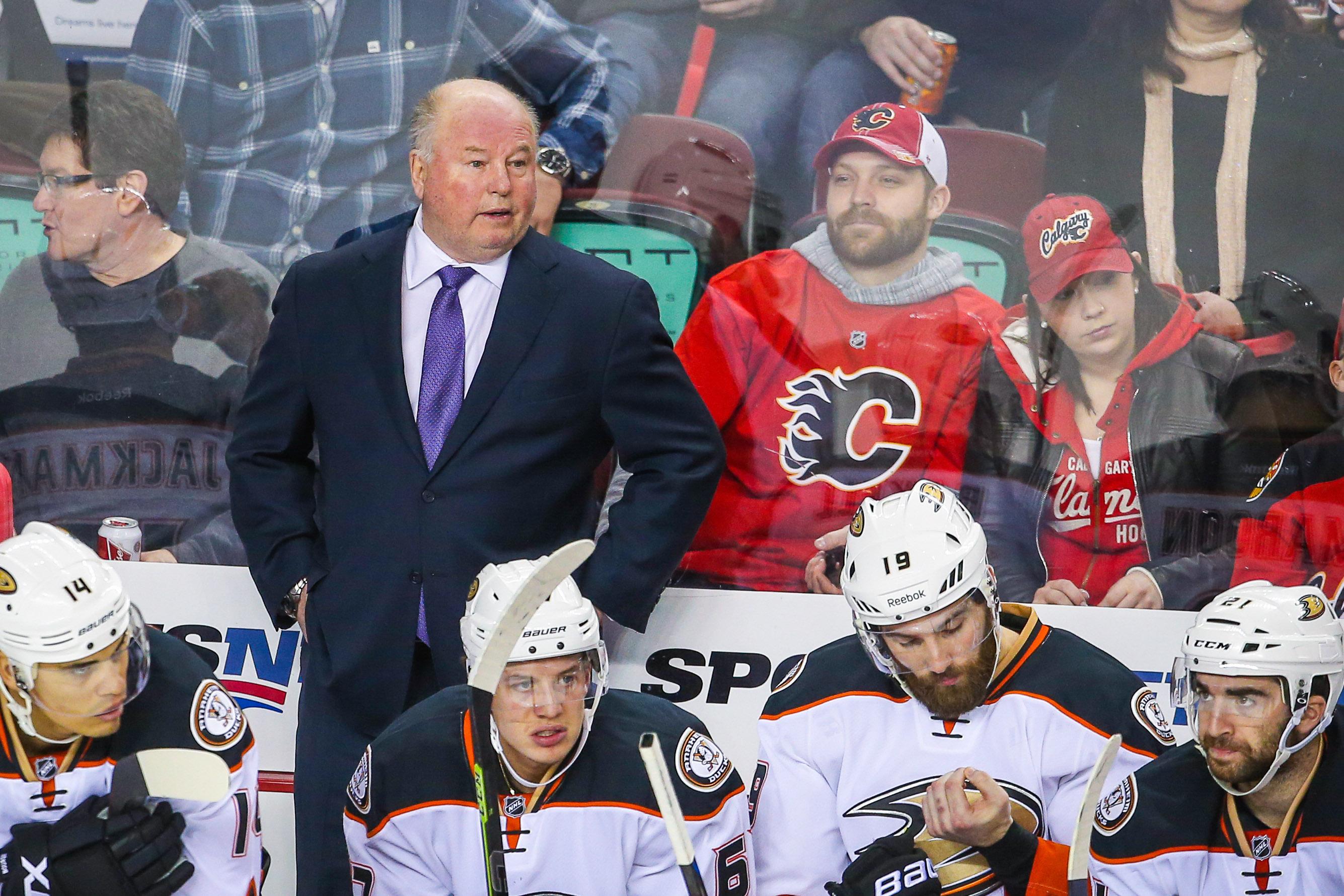 """""""Someday, he might not be my teams head coach"""" - Random bearded Flames fan"""