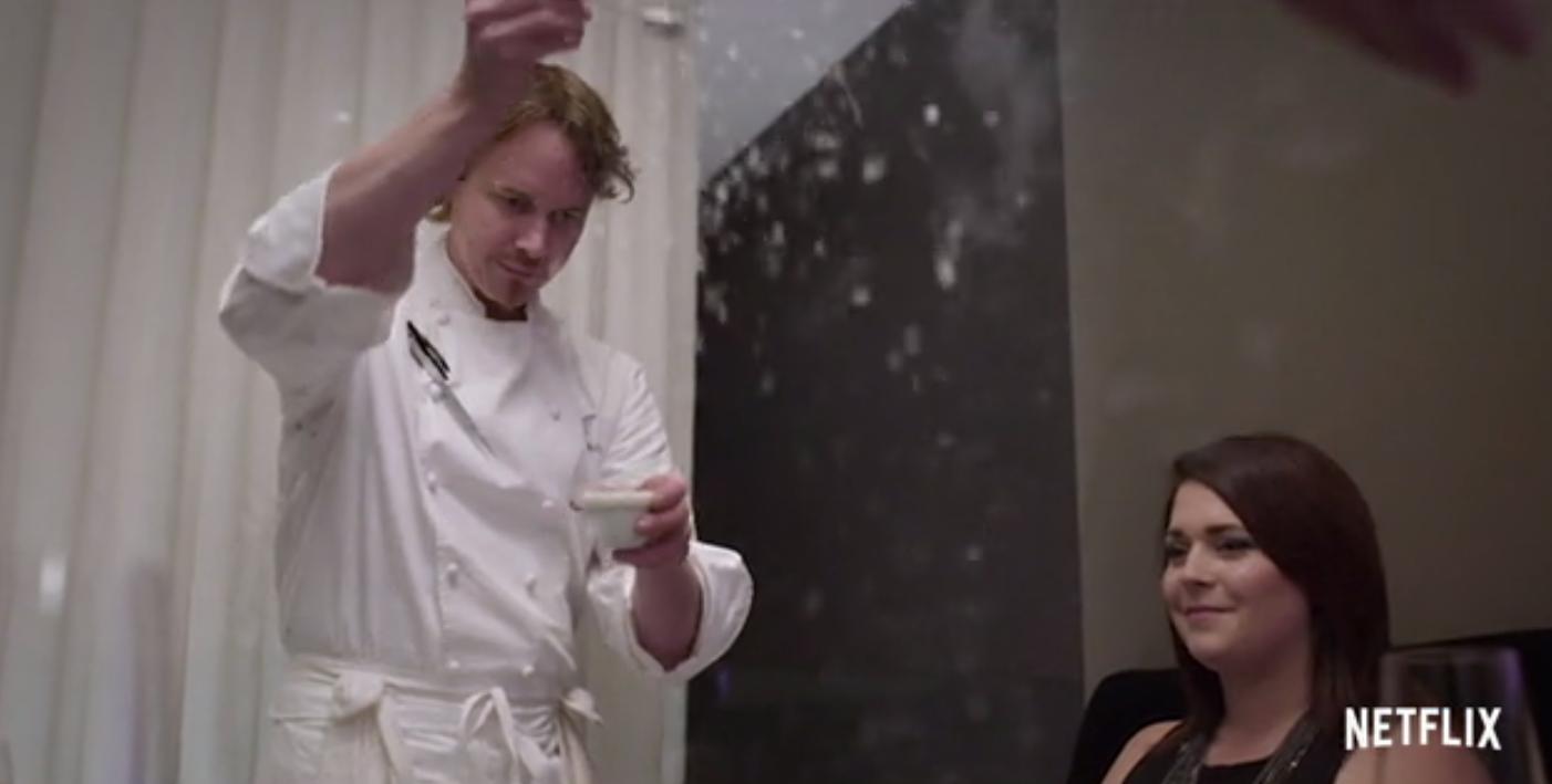 "Grant Achatz on ""The Chef's Table"""