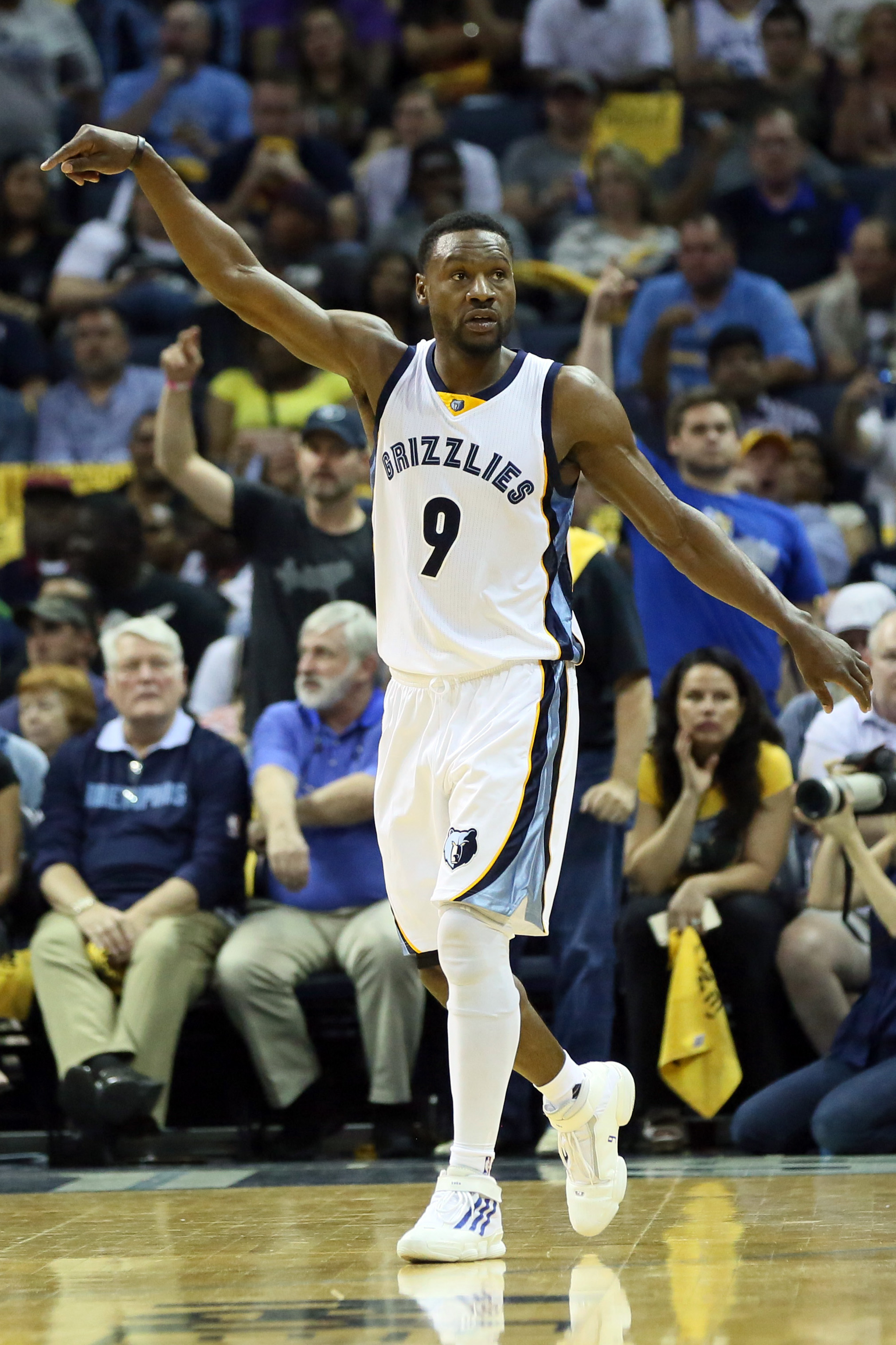 If Tony Allen is supposed to be a key floor spacer for your offense, you're in trouble