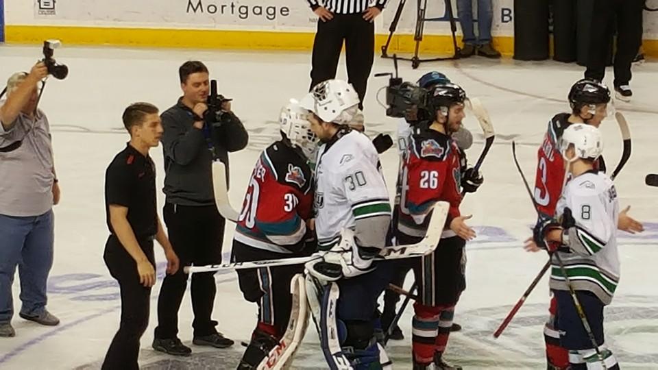 Seattle Thunderbirds goaltender Landon Bow is 12-1 heading into the WHL Chynoweth Cup Final.
