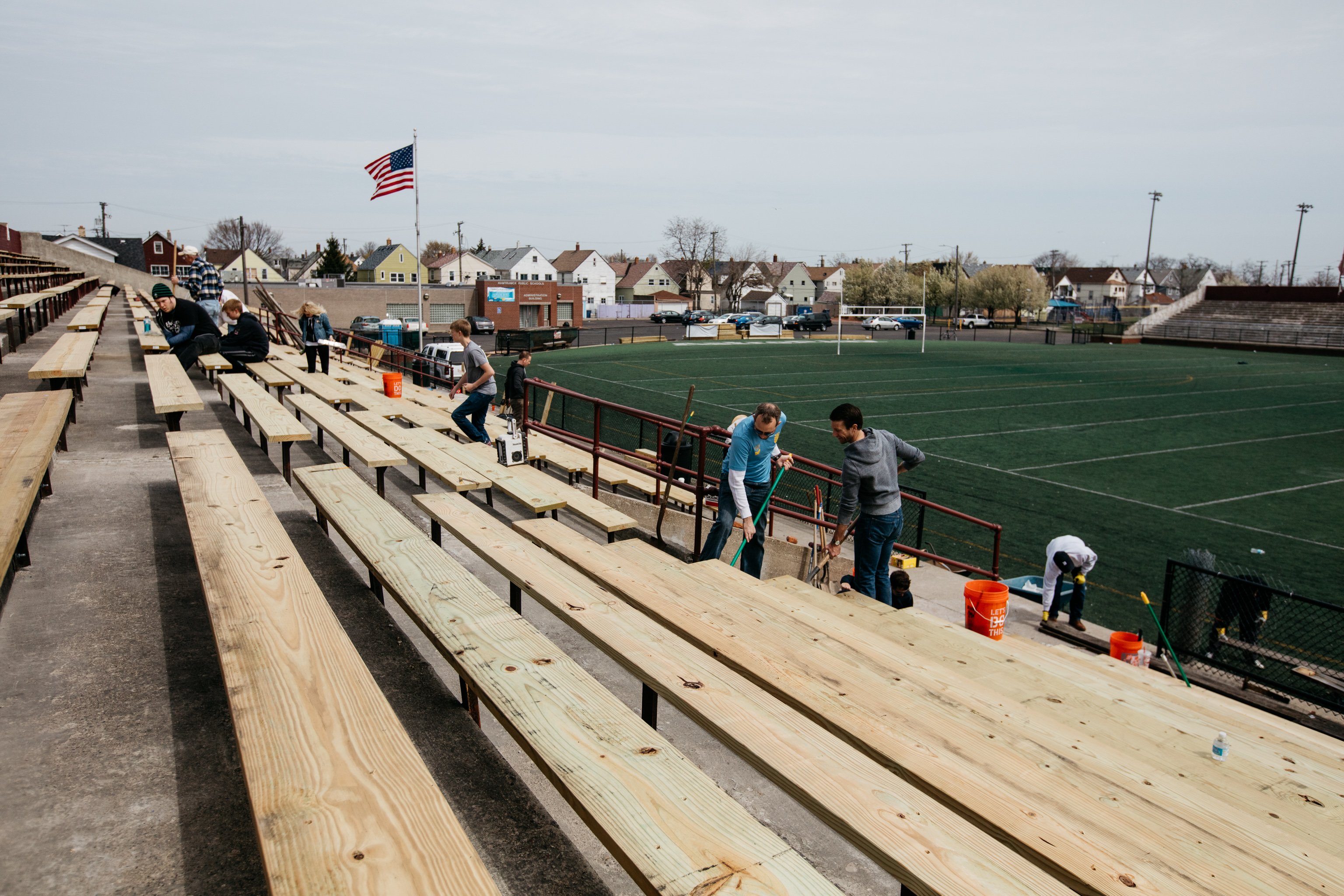 Keyworth Stadium renovations for Detroit City FC