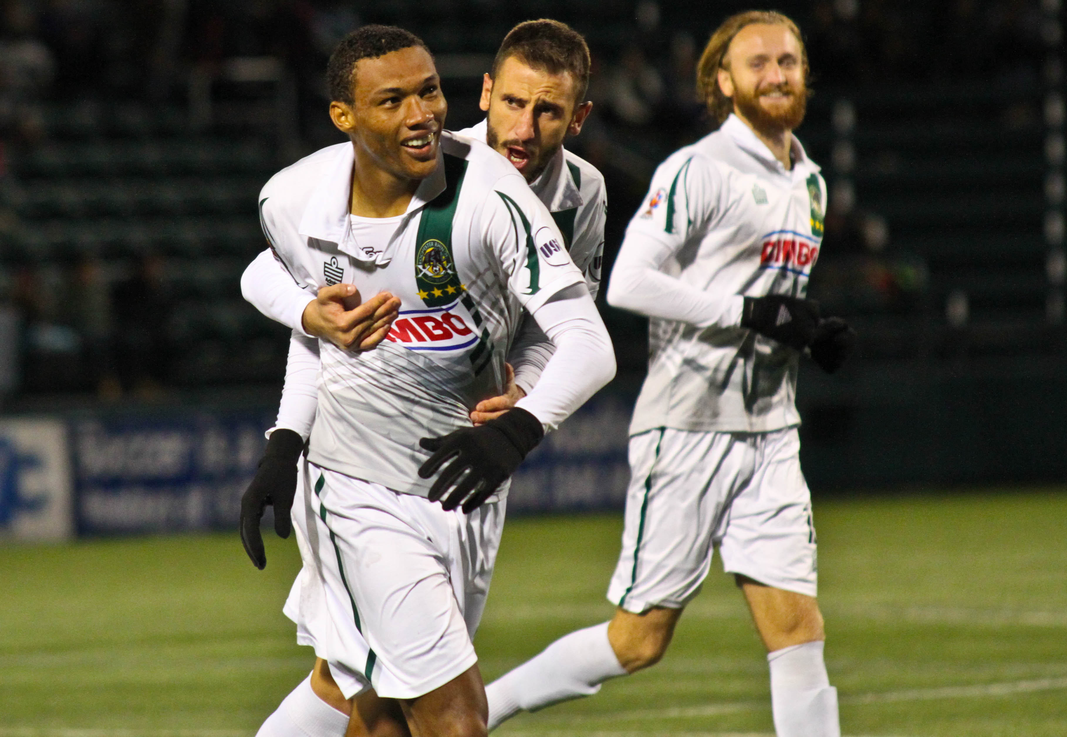 """Steevan Humberto Fortes """"Duba"""" dos Santos did not score on his return from suspension but was instrumental for Rochester"""