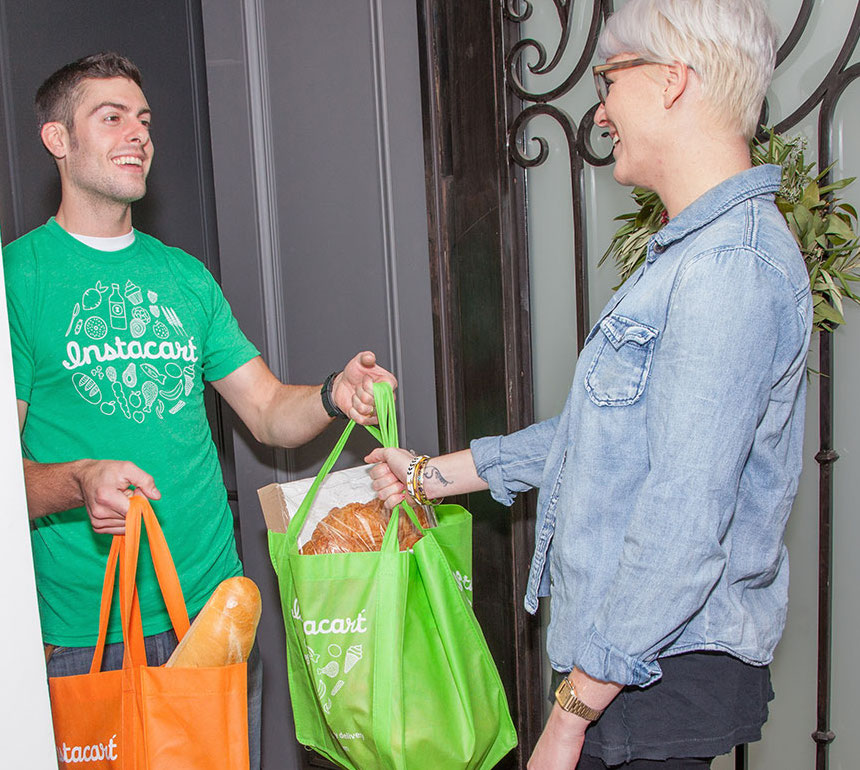 Grocery Delivery Startup Instacart Scores $220 Million Investment
