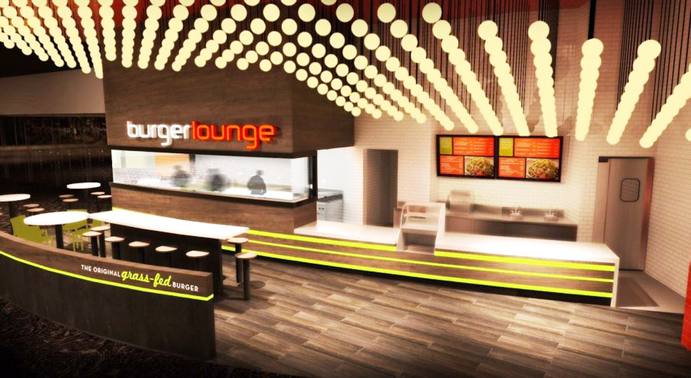 Burger Lounge rendering Studio MYID