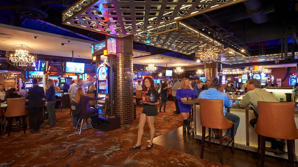 Downtown Grand casino floor