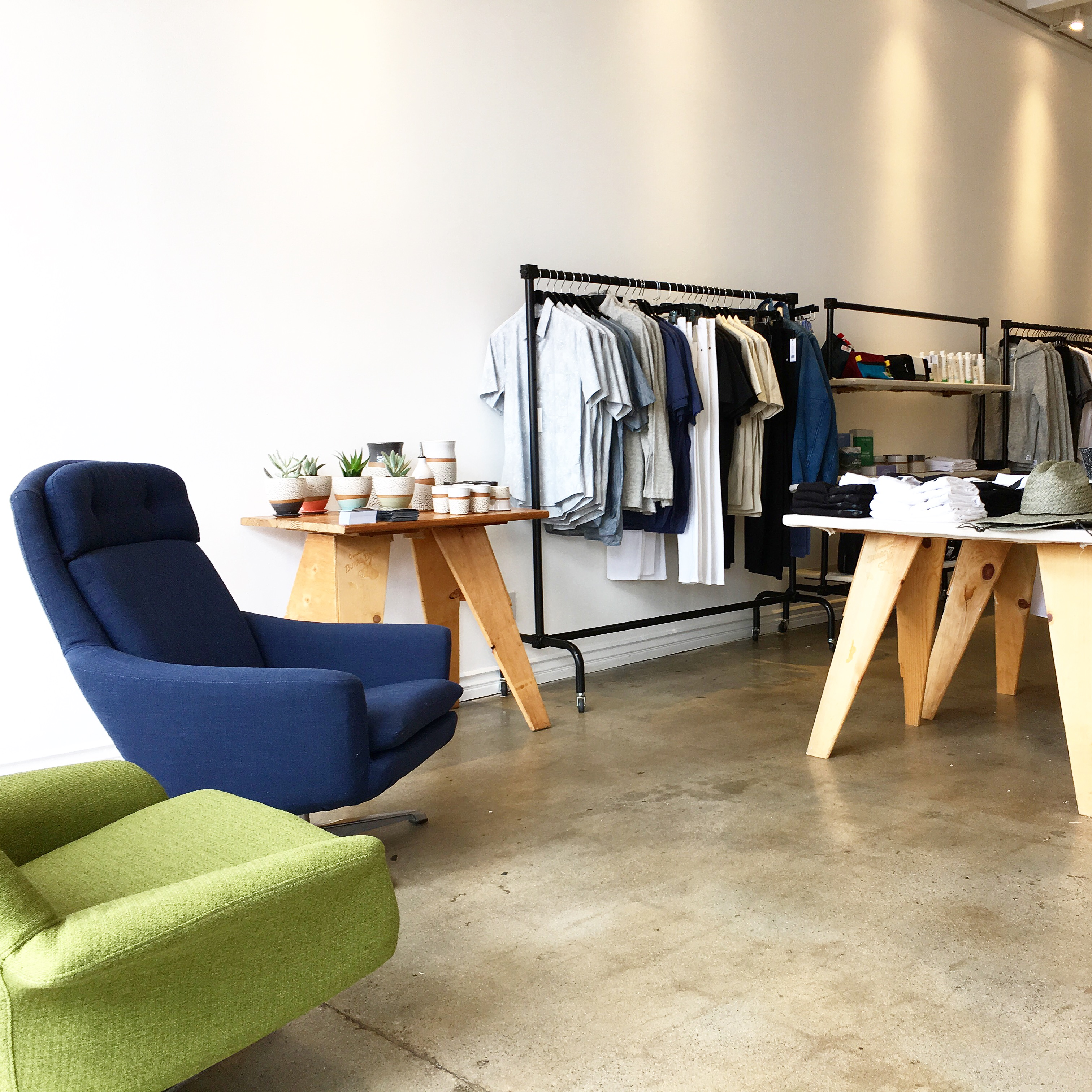 Modern menswear shop wittmore pops up on west 3rd street this month