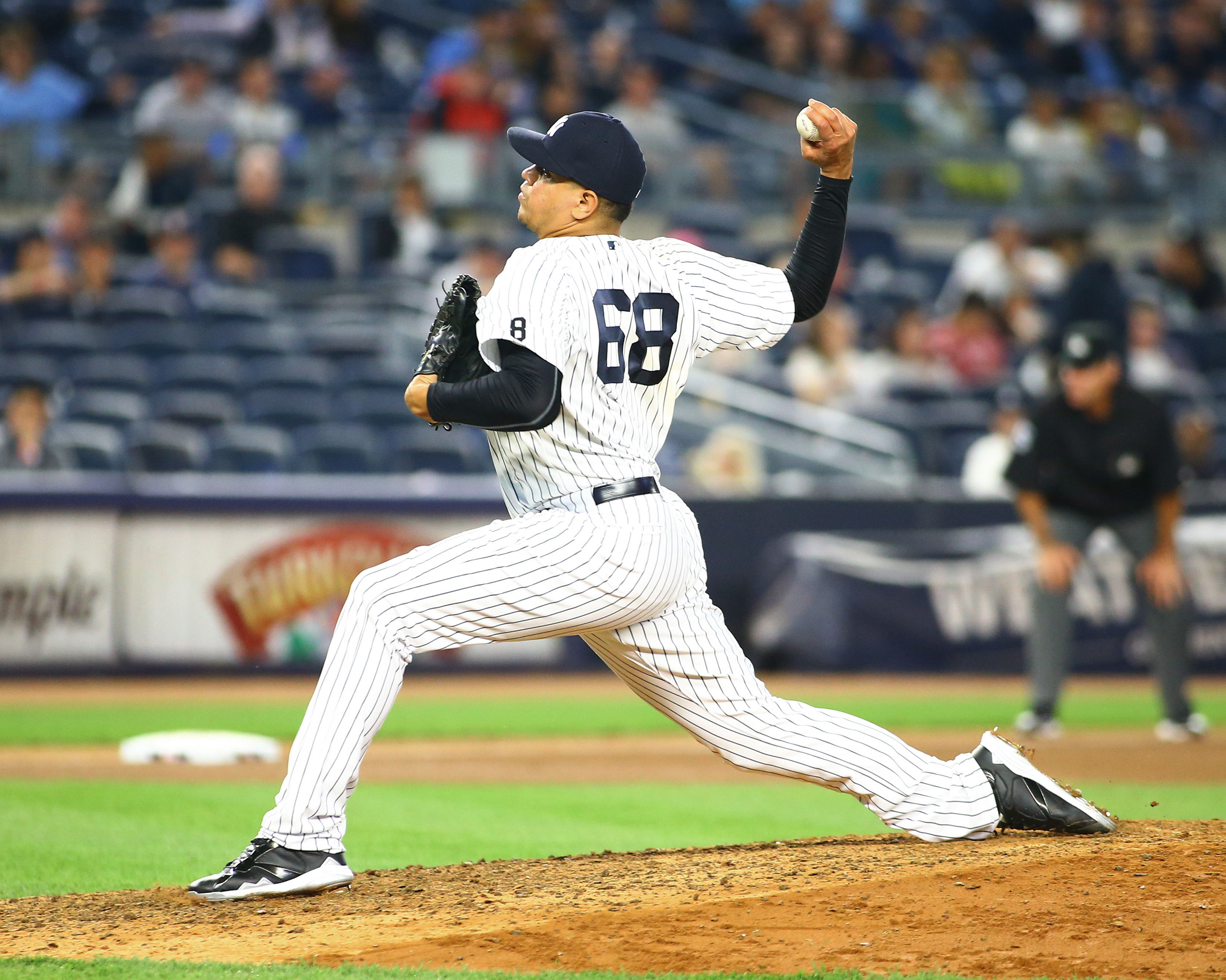 Dellin Betances signed a deal with Motus Global in April to endorse their motusTHROW system.