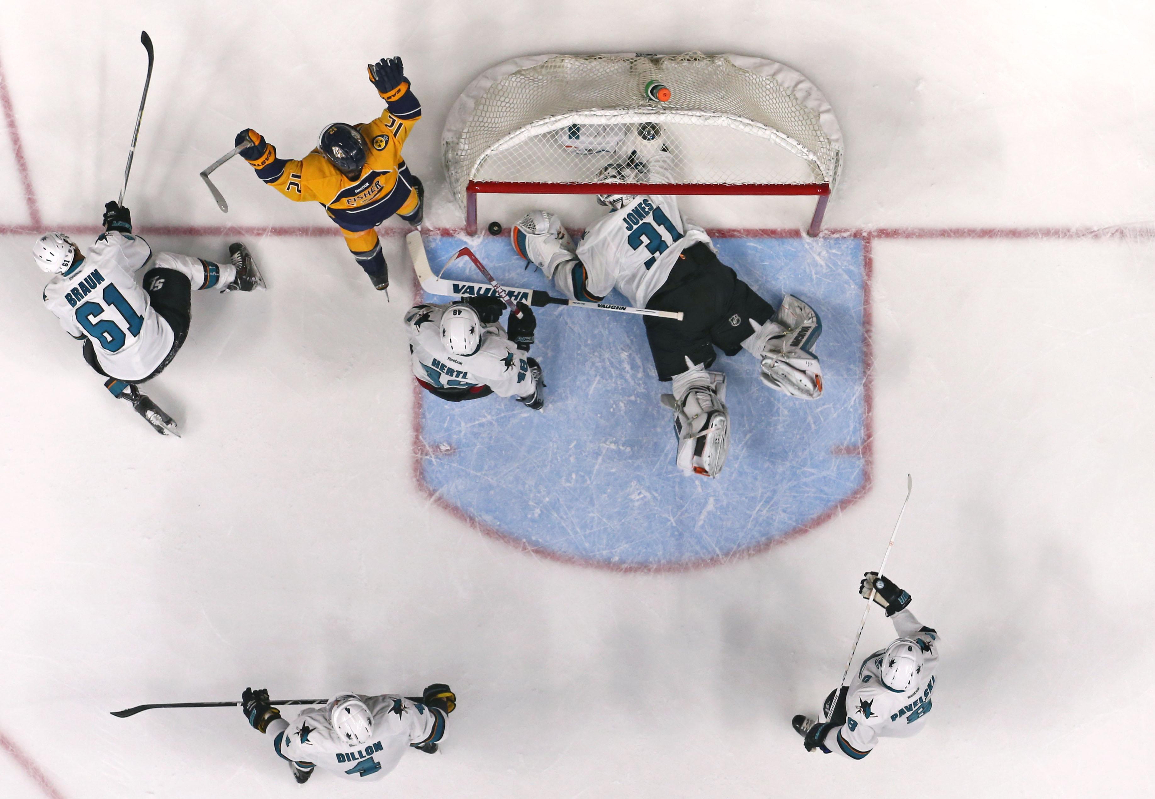 The Bruins have to hope Nashville beat former Bruin Martin Jones and the San Jose Sharks to get the highest pick back