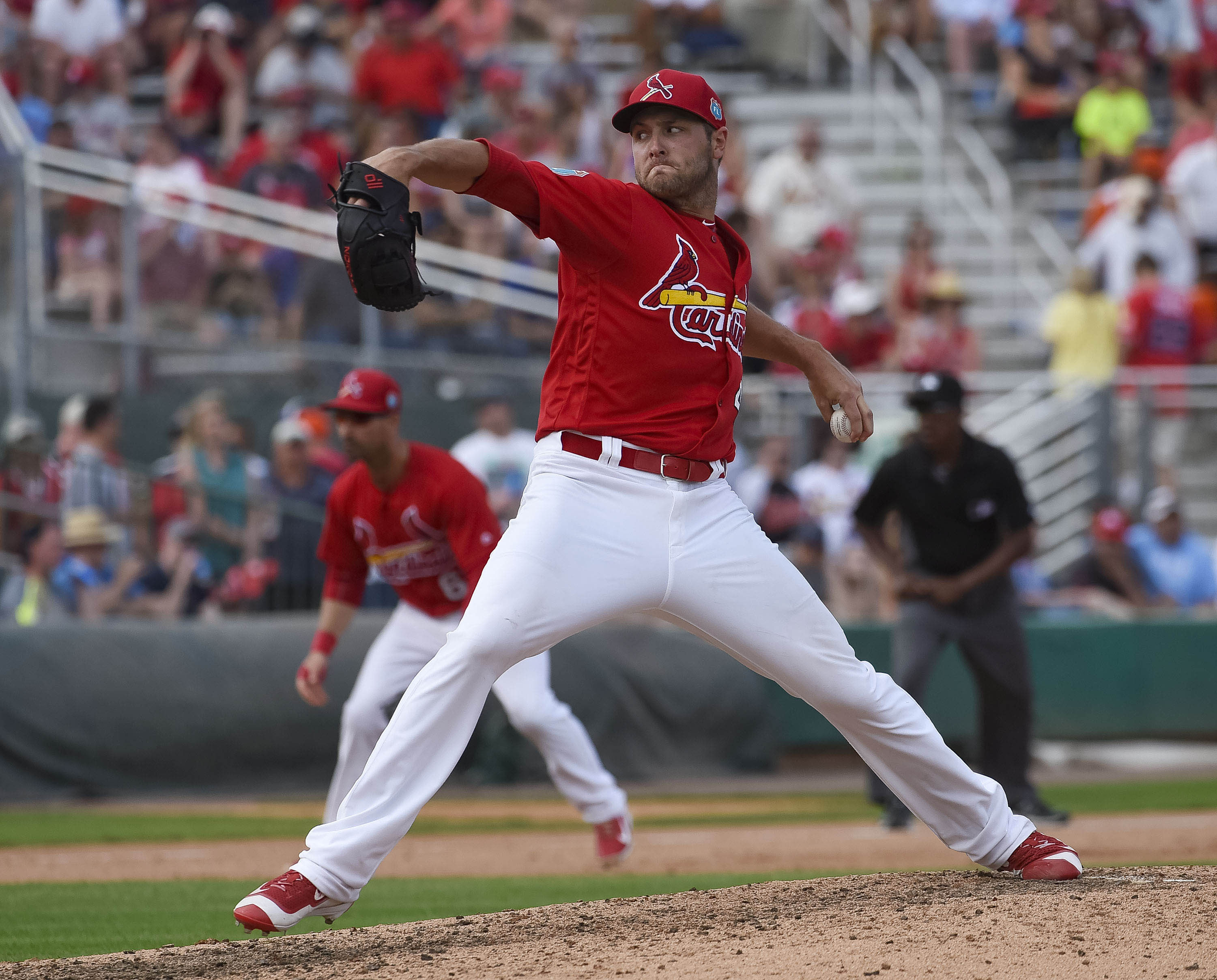 Kevin Siegrist, unheralded draft prospect once upon a time.