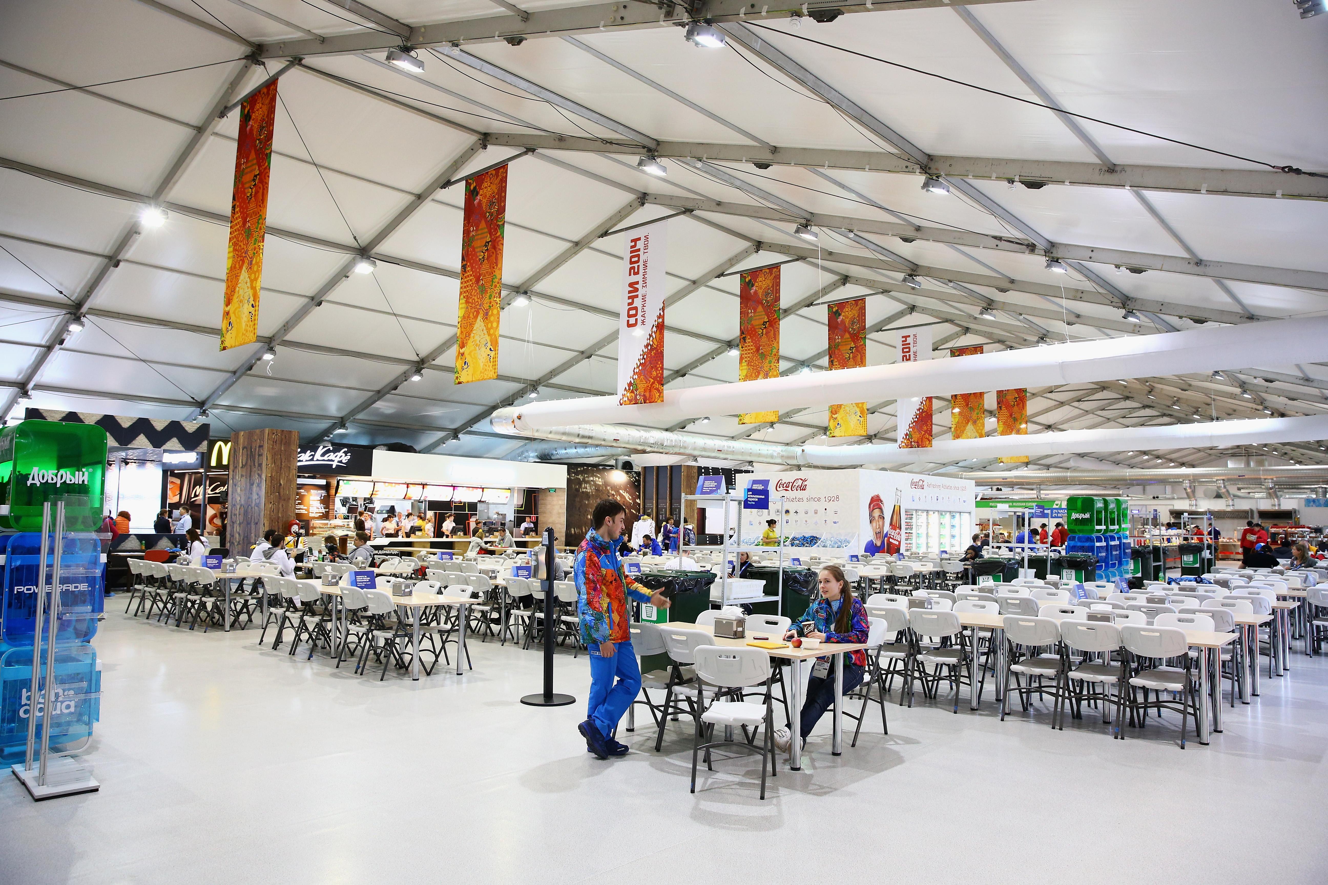 Sochi 2014 Dining Hall