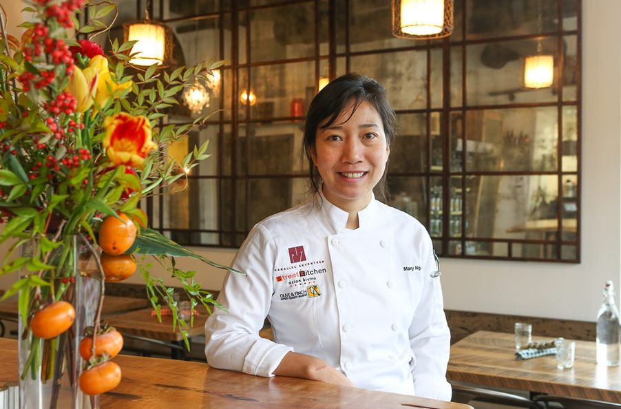 Mary Nguyen at Olive + Finch