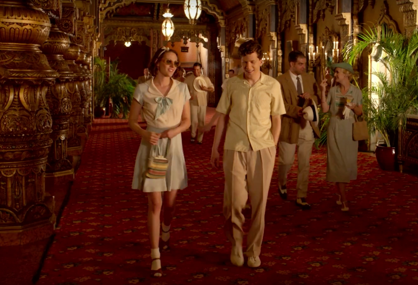 Kristen Stewart and Blake Lively Are Retro Fashion Goddesses in Woody Allen's New Film