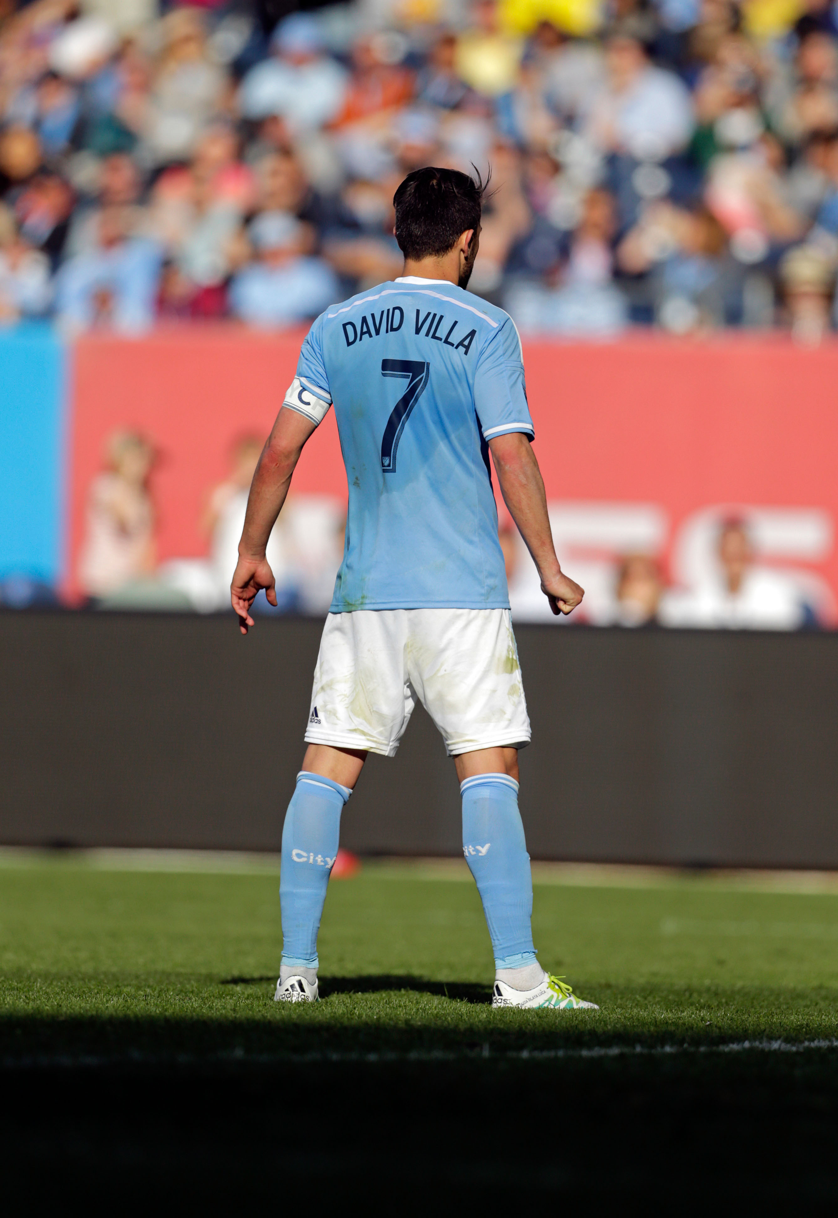 David Villa is a true leader ... the spark that drives NYCFC
