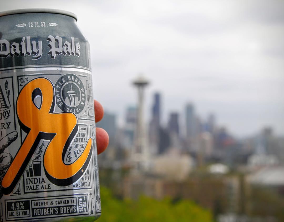 The official beer of Seattle Beer Week