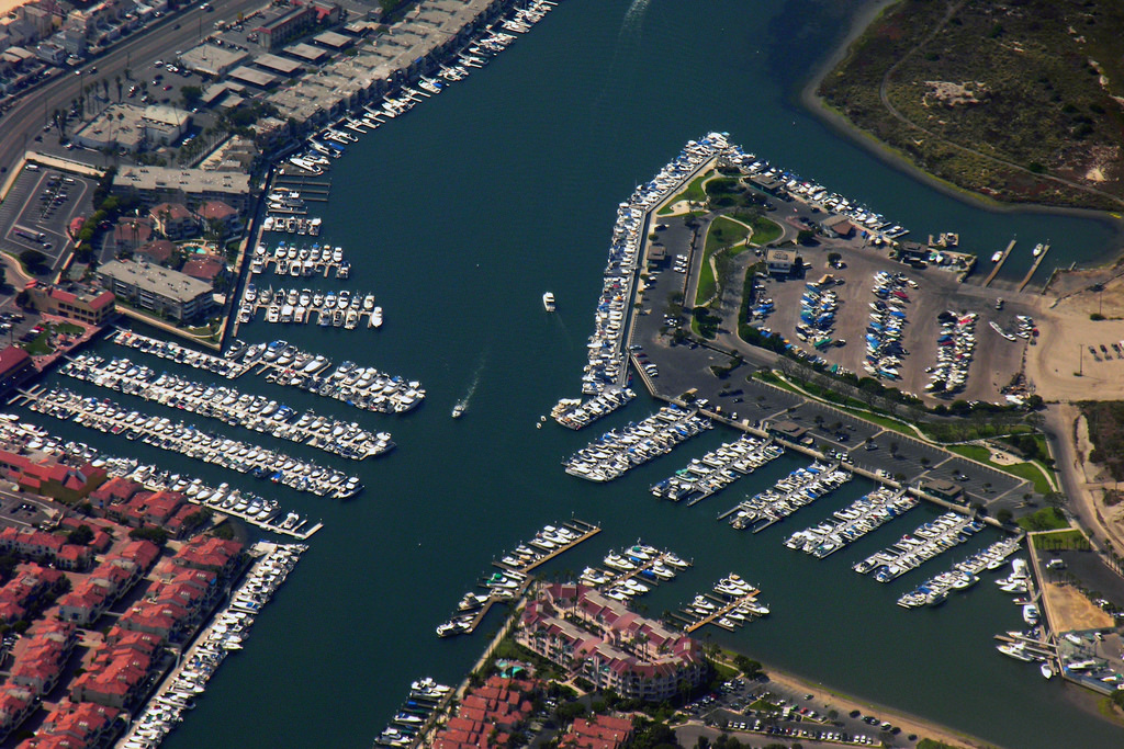 Ballast Point will land at the marina in Long Beach