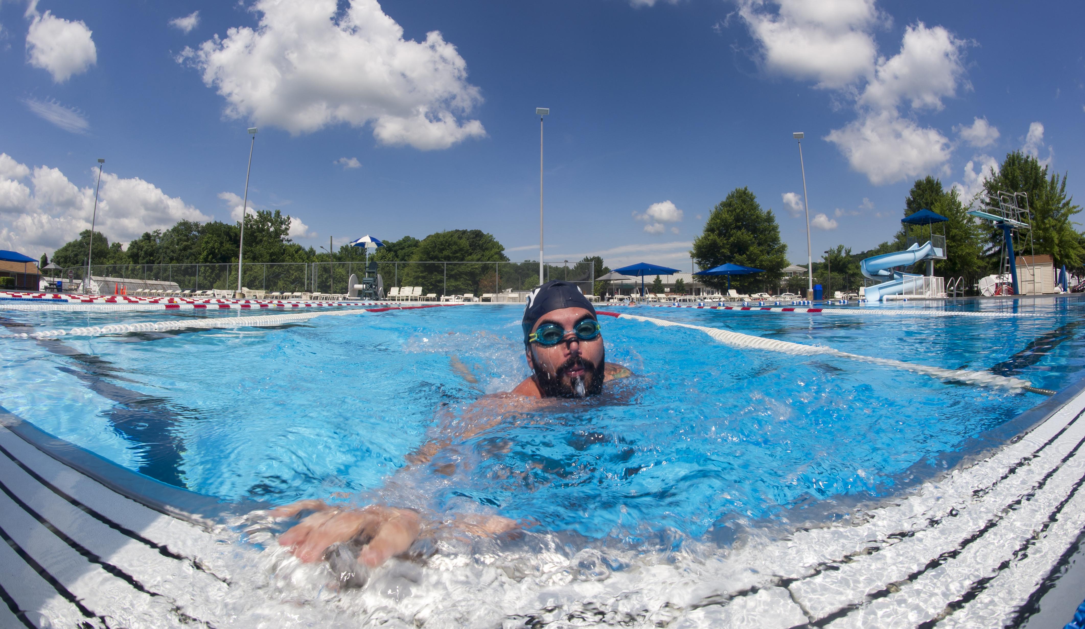 Michael Roggio, Invictus Games swimmer