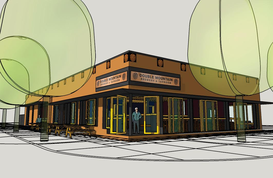 Rendering of Double Mountain Taproom