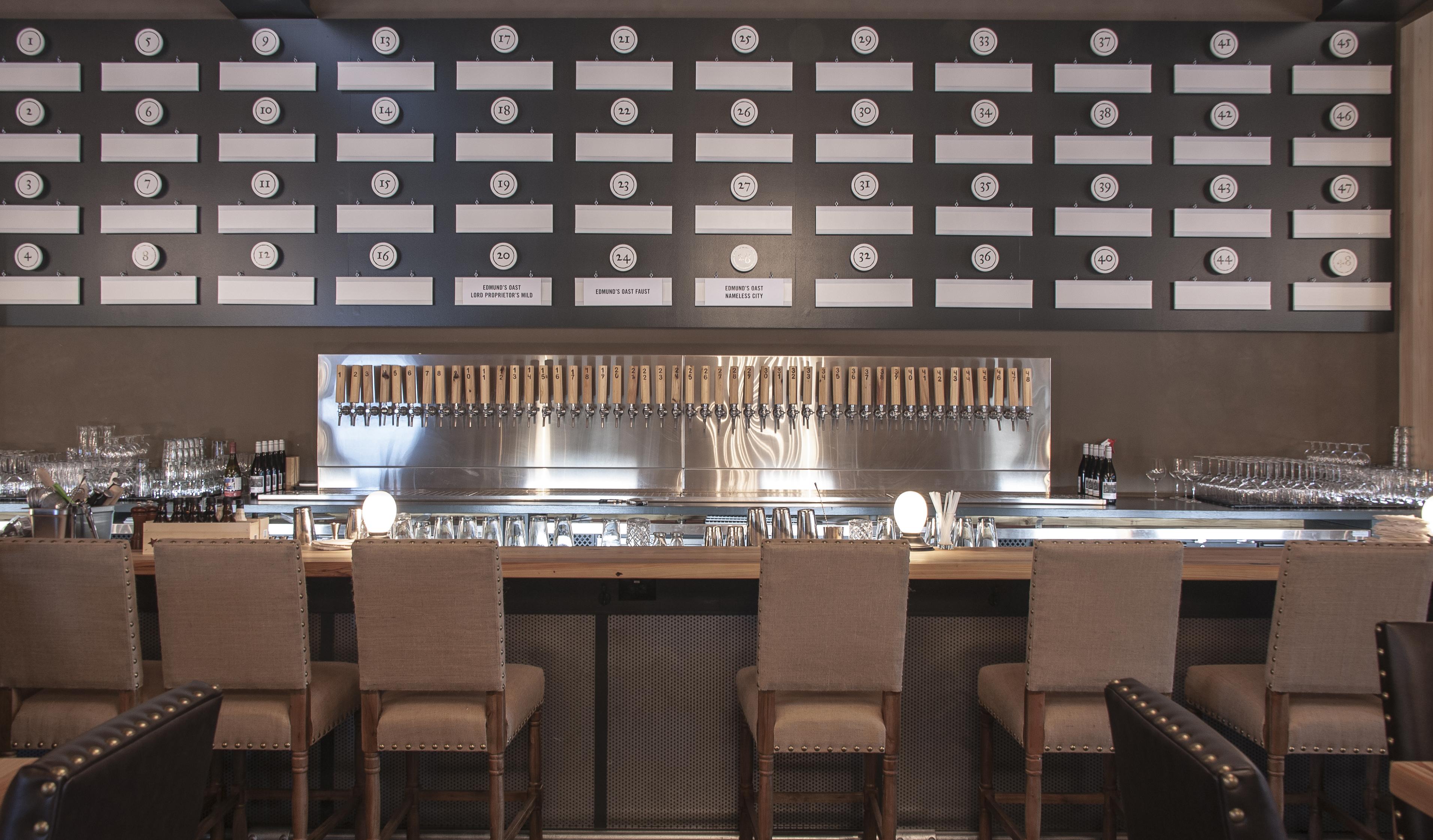 Bar at Edmund's Oast