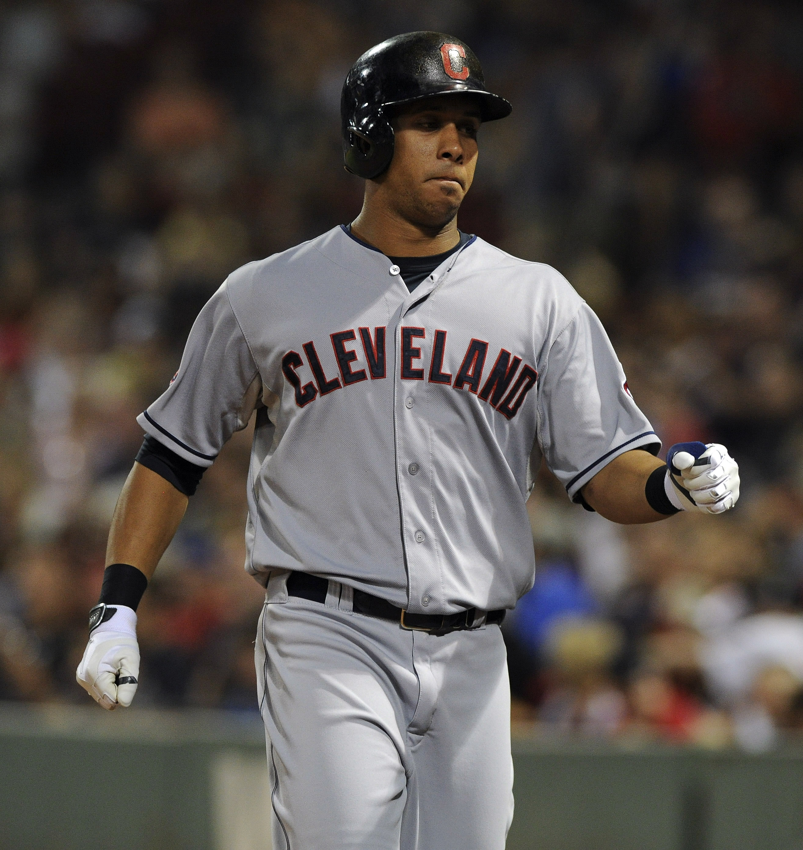 Michael Brantley will be sitting for at least the next week.