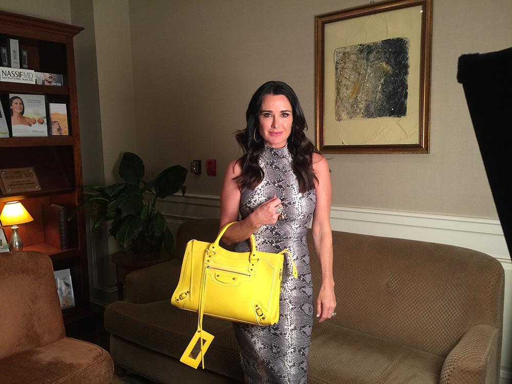 'Real Housewives' Star Kyle Richards's Bag Is Like a Mini Pharmacy