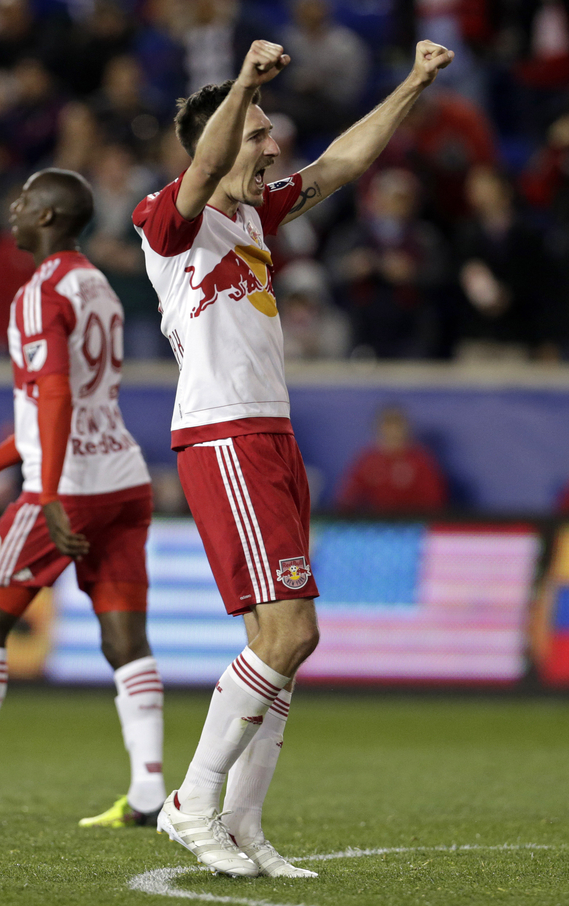 The NYRB midfielder has been putting up big scores this season, and plays twice this week. Buy!
