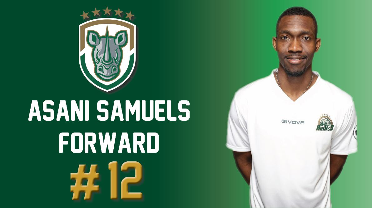 Asani Samuels stole the show with a hat-trick on Wednesday night against Southie FC