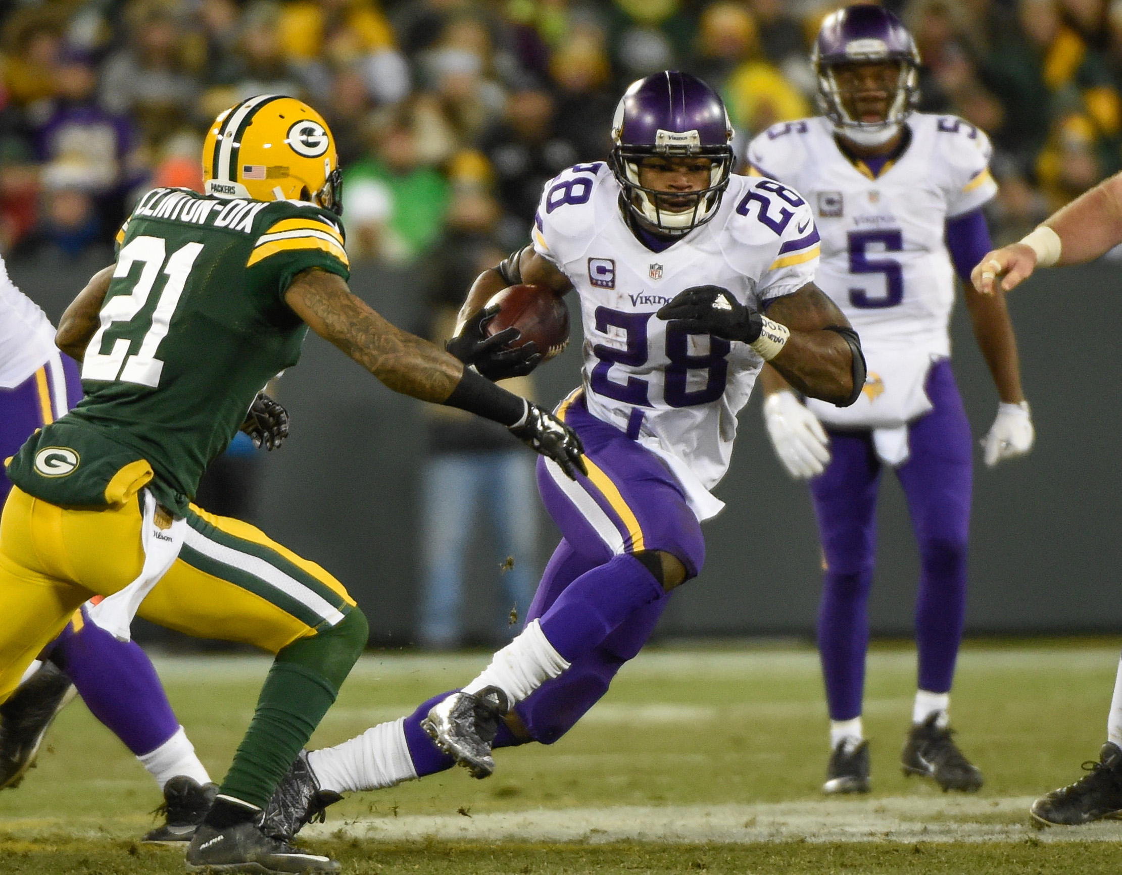 Adrian Peterson, like the Energizer Bunny, just keeps on going. He's the NFC North's most valuable fantasy player heading into 2016.