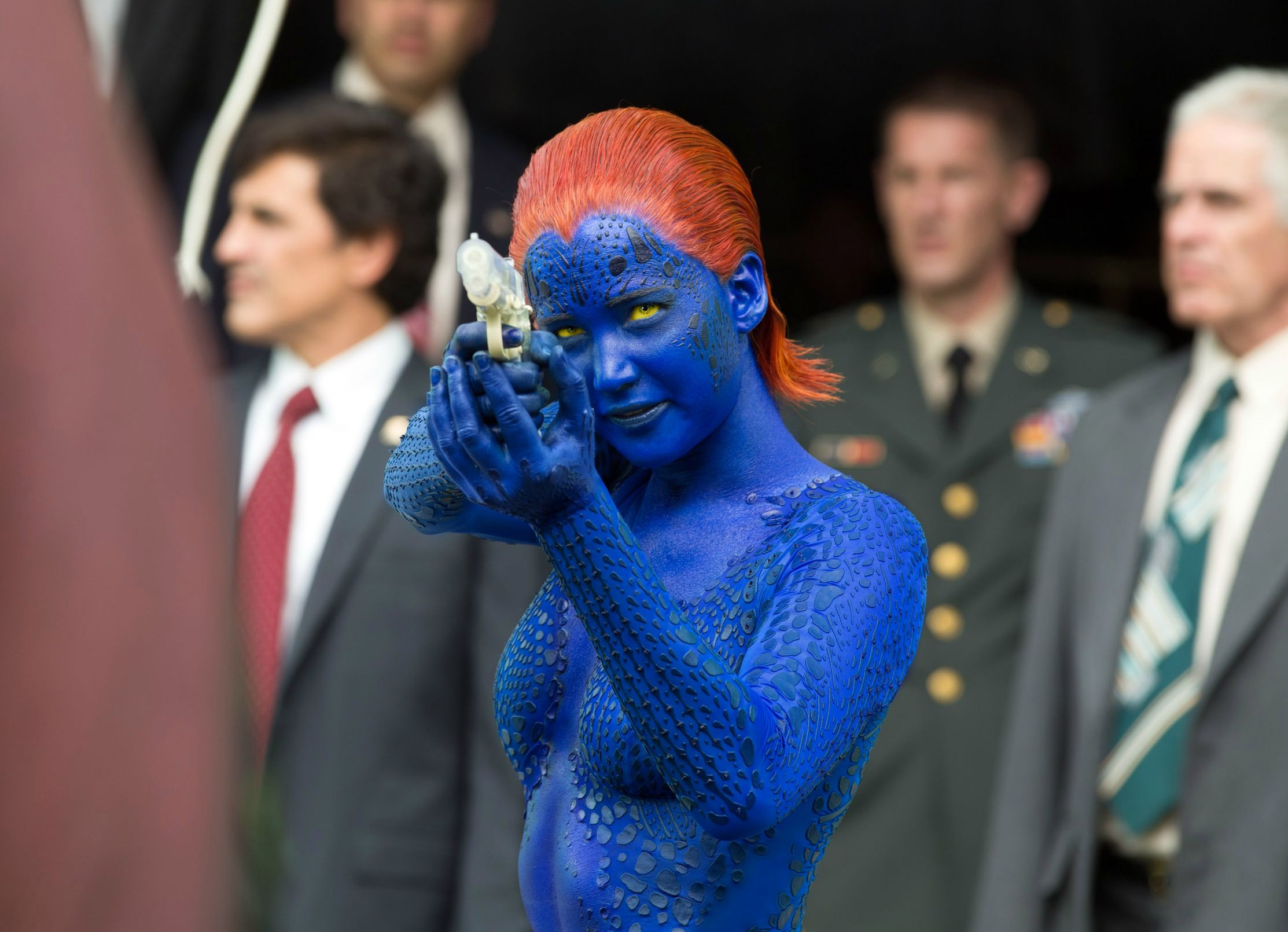 Jennifer Lawrence says she's up for more X-Men movies — but only if co-stars return
