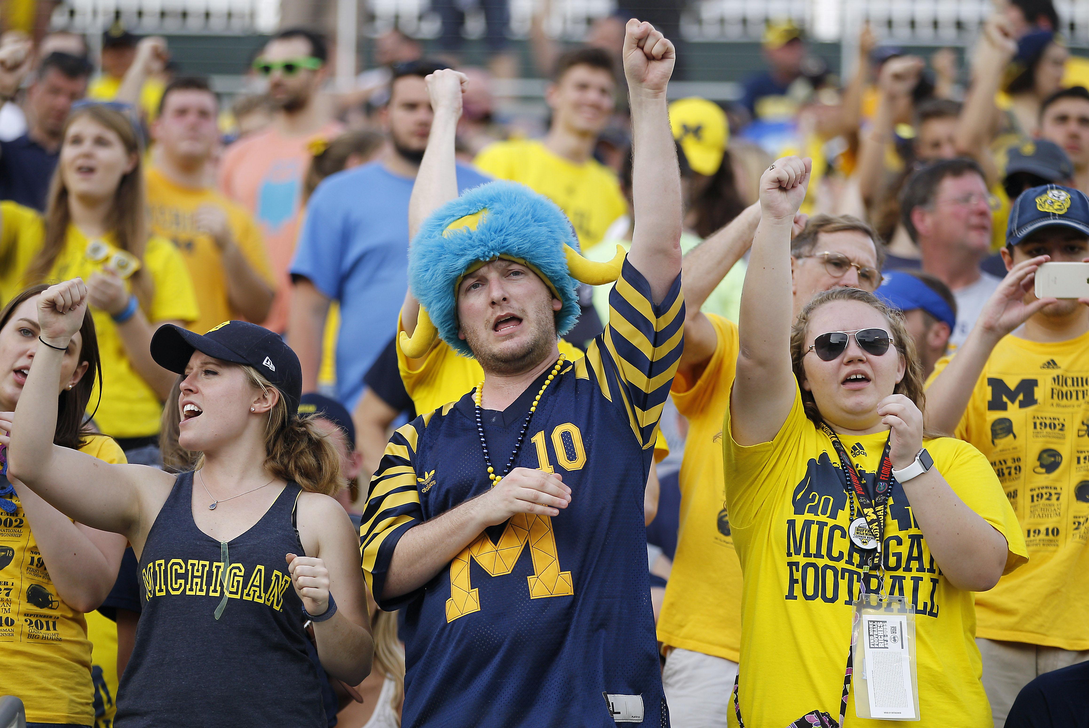 Jangle those keys, Michigan Men. (And women.)
