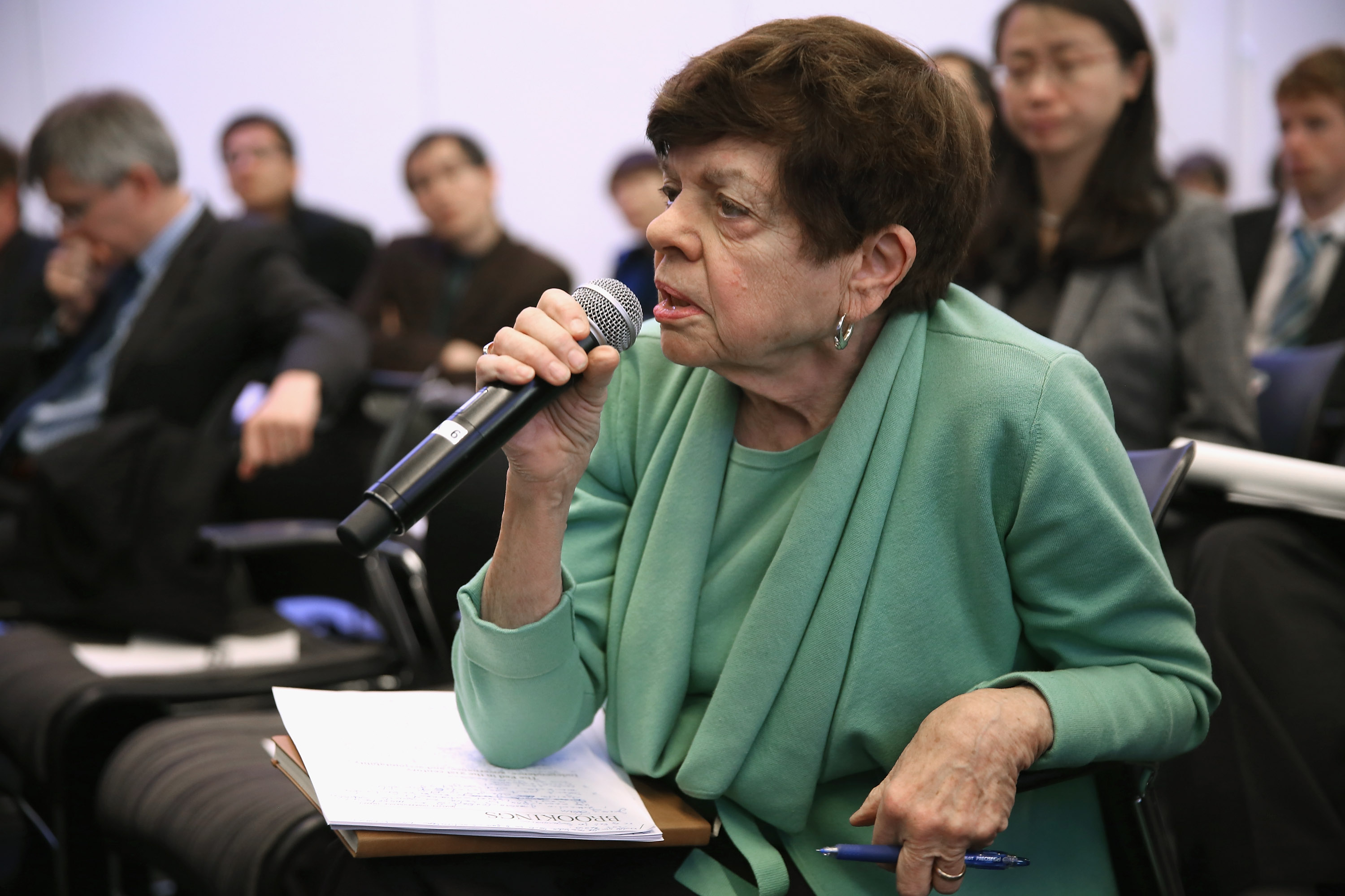 Alice Rivlin, queen of Washington's budget wonks