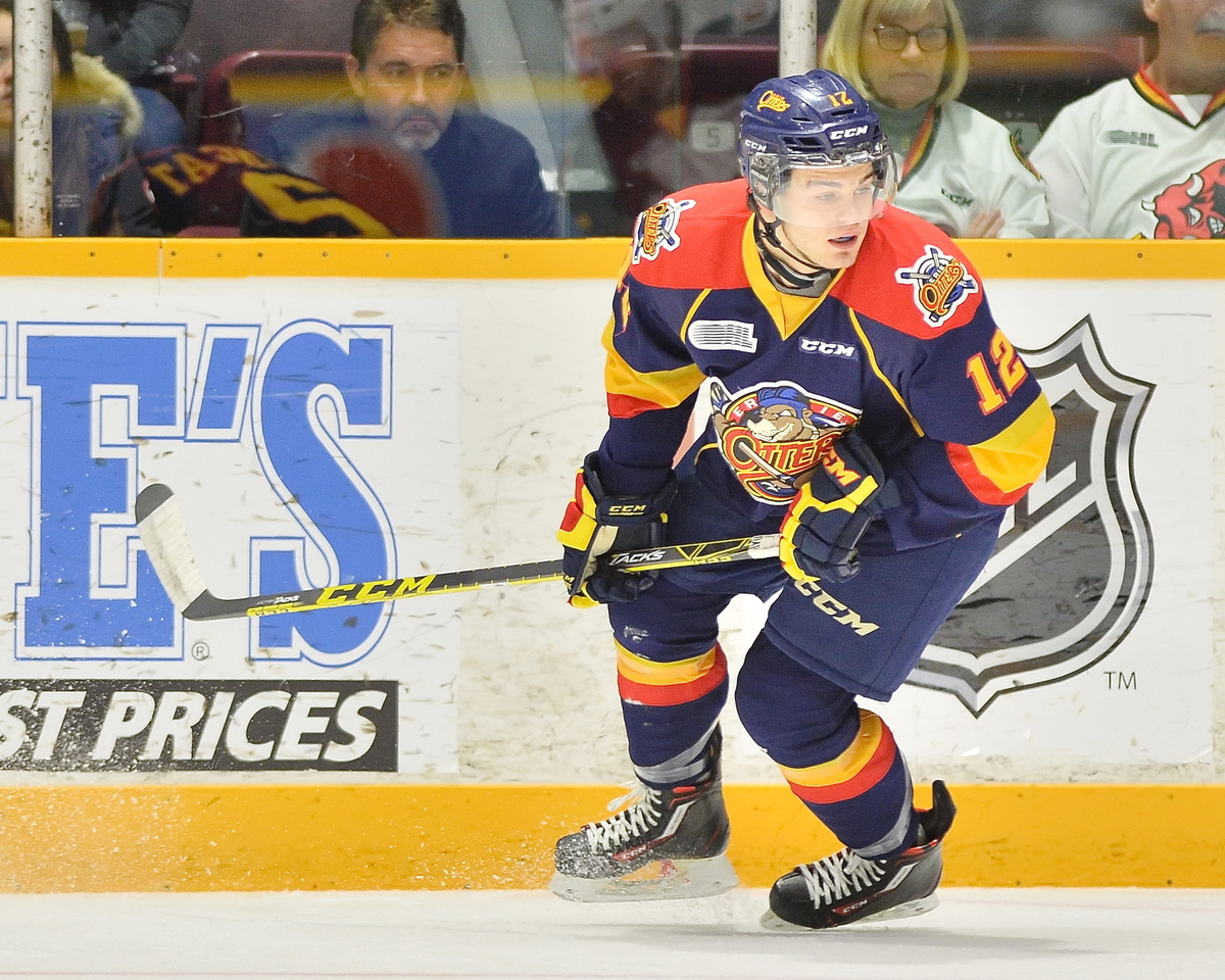 Possibly the best scorer in the draft, DeBrincat's size is his only real drawback.