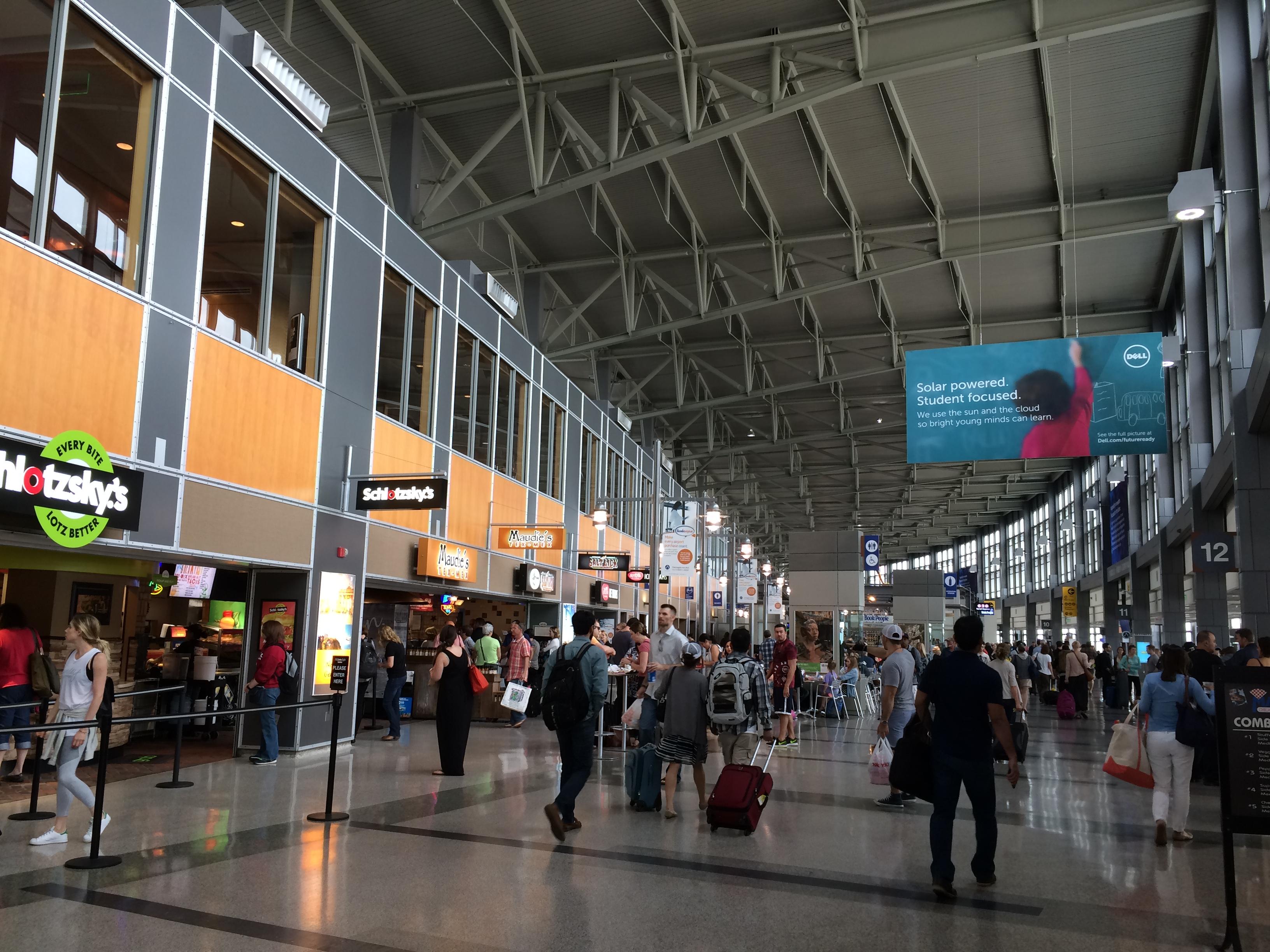 Austin-Bergstrom International Airport.