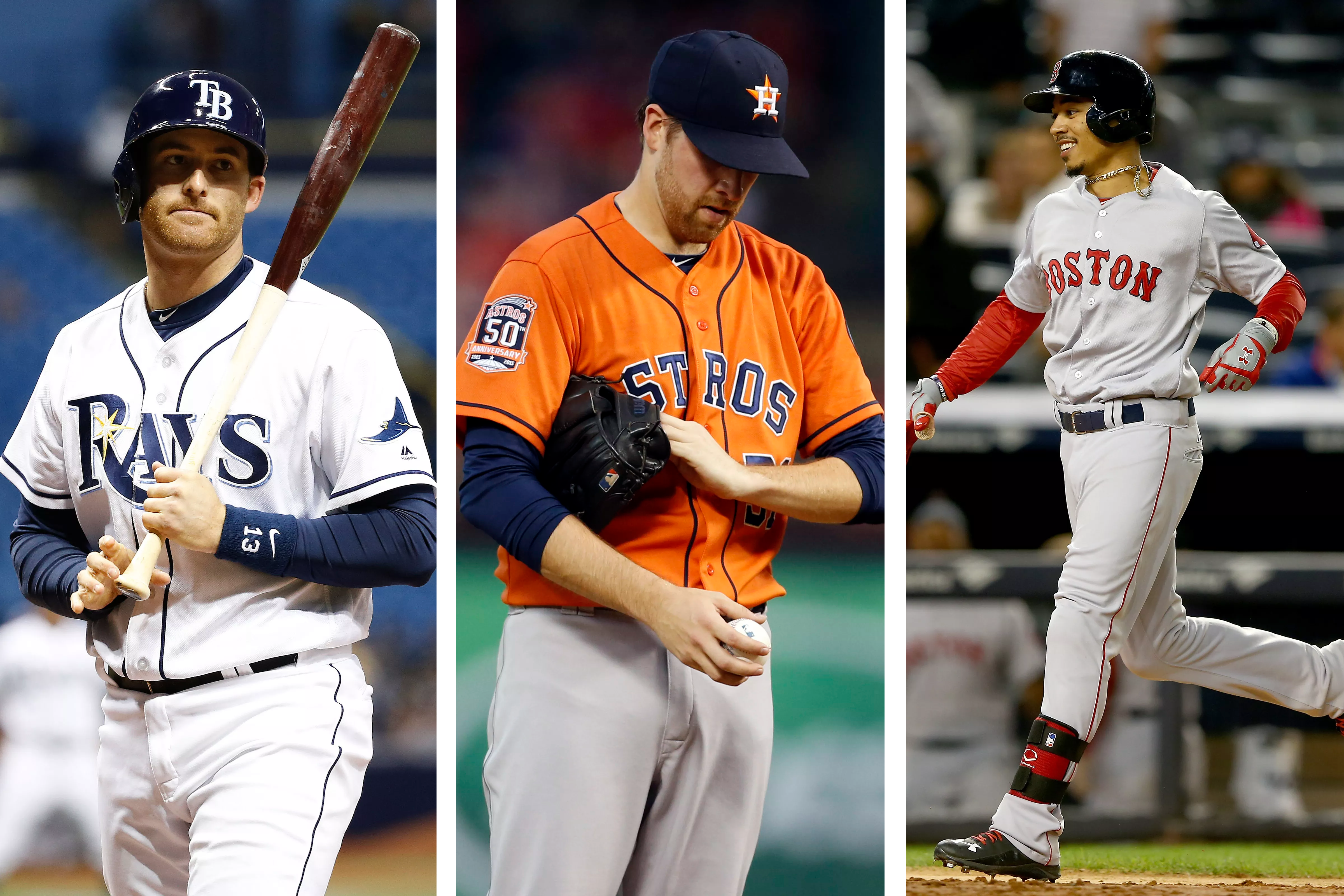 Miller and McHugh have been pretty unlucky this year. Betts? Not so much.