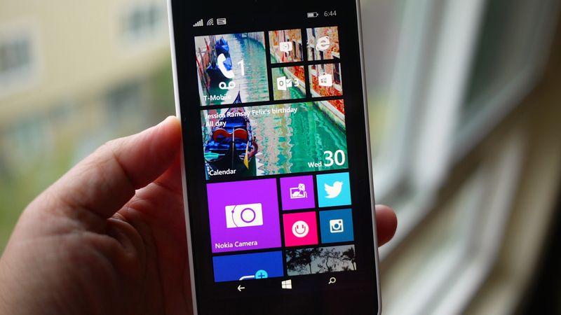 Microsoft's Lumia 635 smartphone