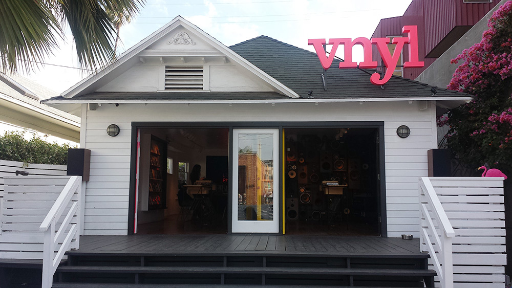 VNYL Abbot Kinney Store
