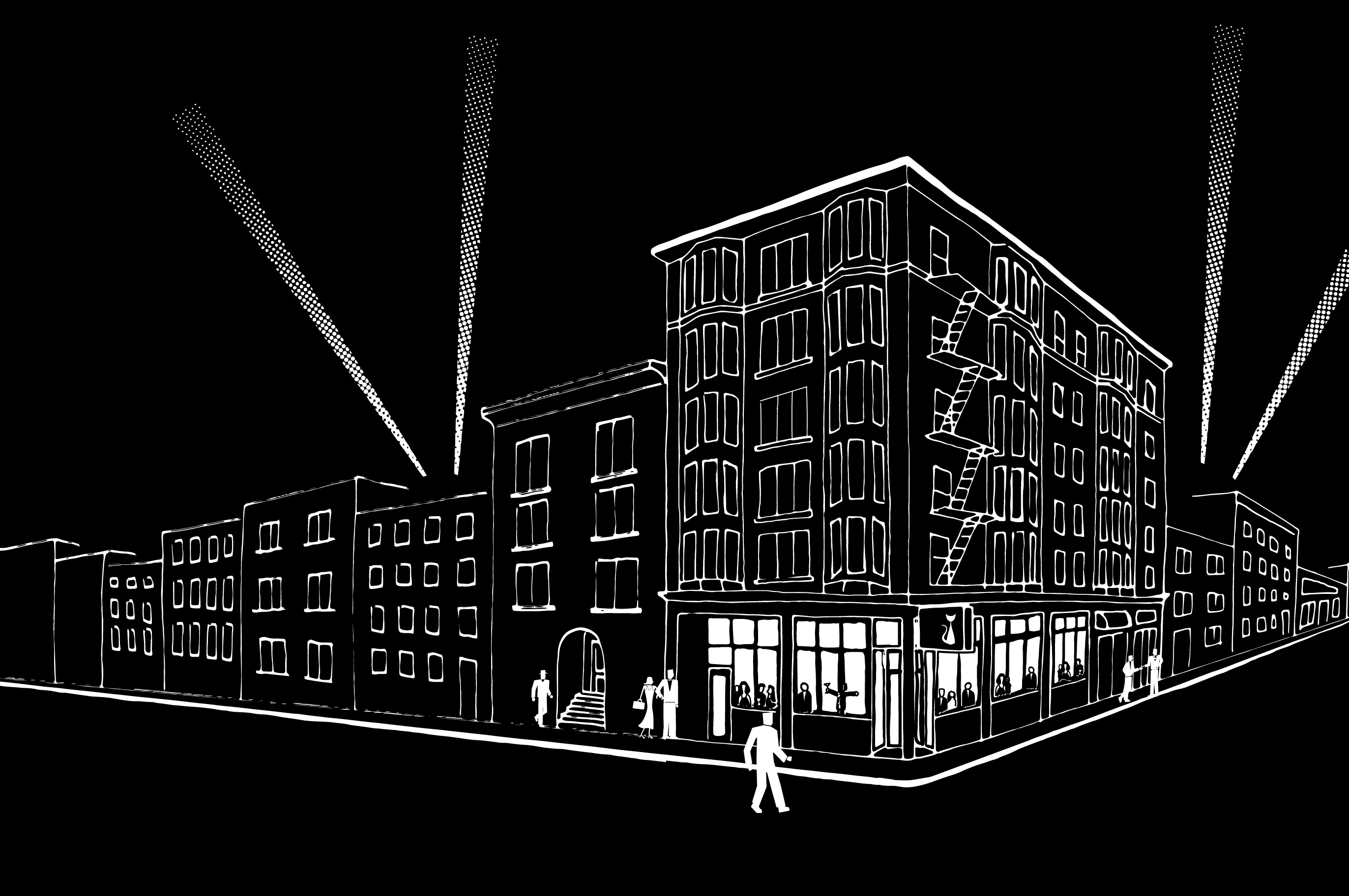 A rendering of the space